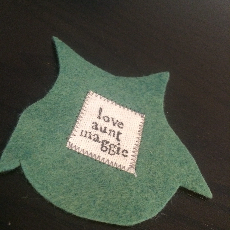 love aunt maggie | cat toy tutorial