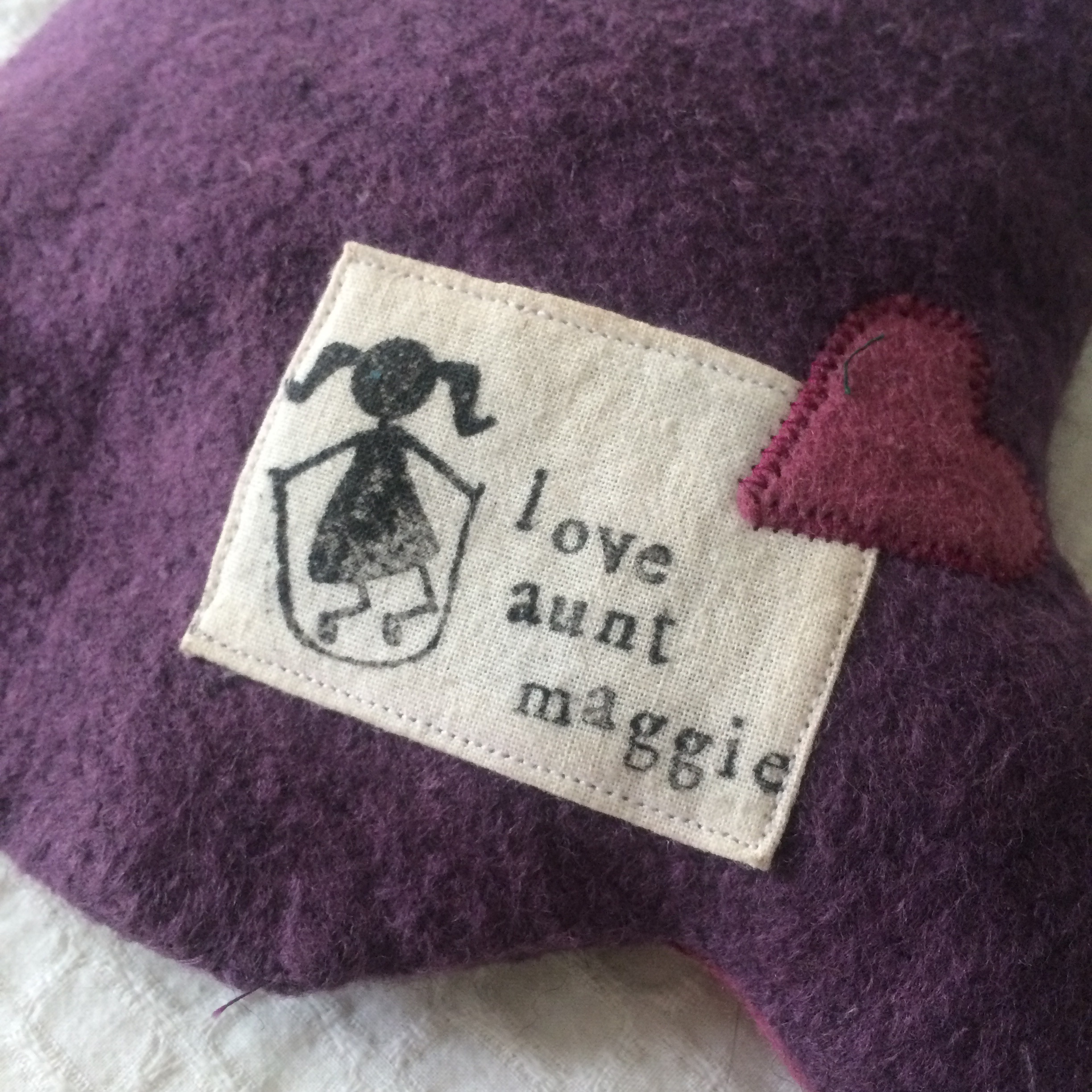 love aunt maggie | stuffed toy owl