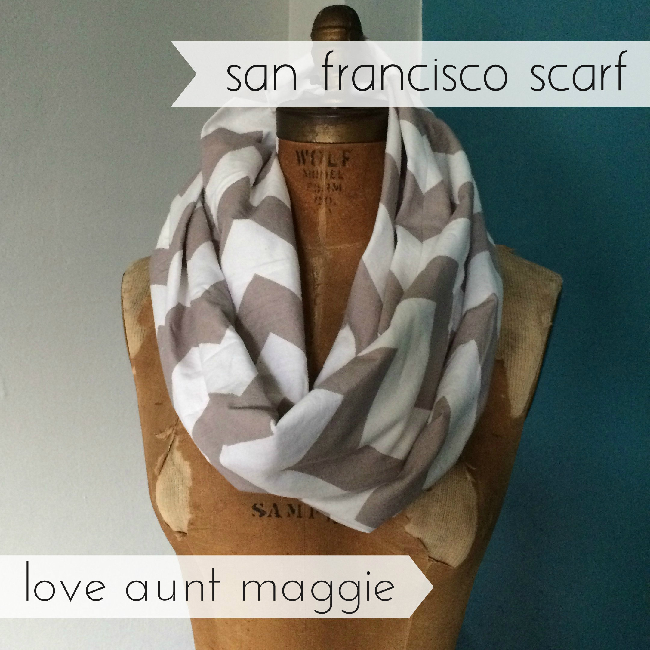 love aunt maggie | san francisco scarf