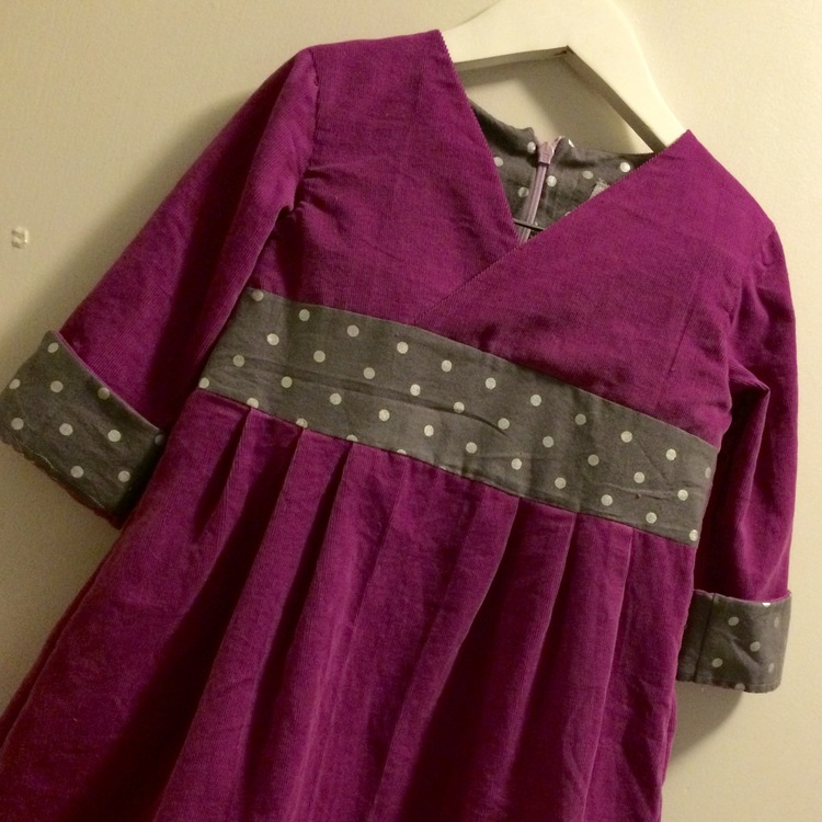 love aunt maggie | library show & tell dress