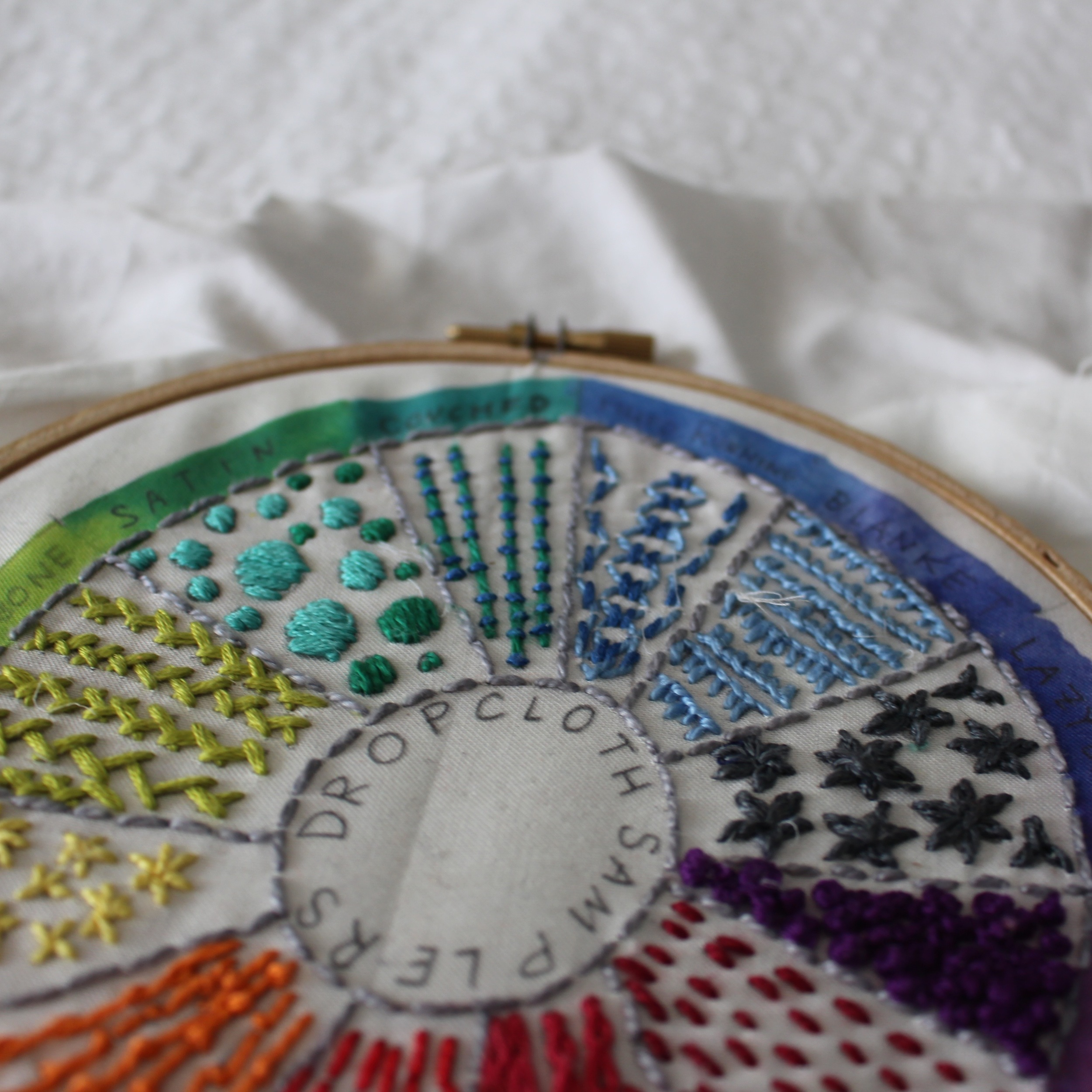 love aunt maggie | another dropcloth sampler