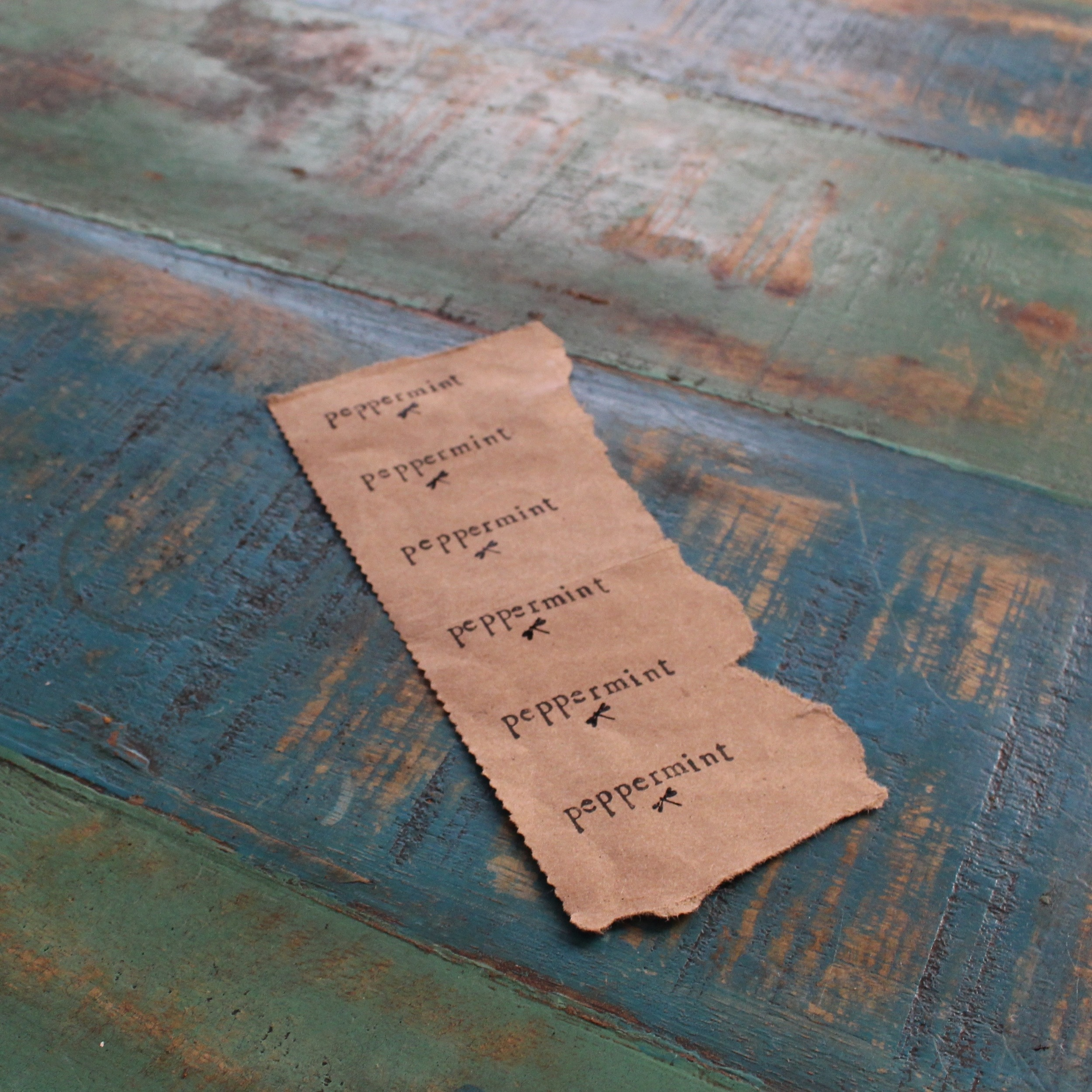 love aunt maggie | handmade candle tags