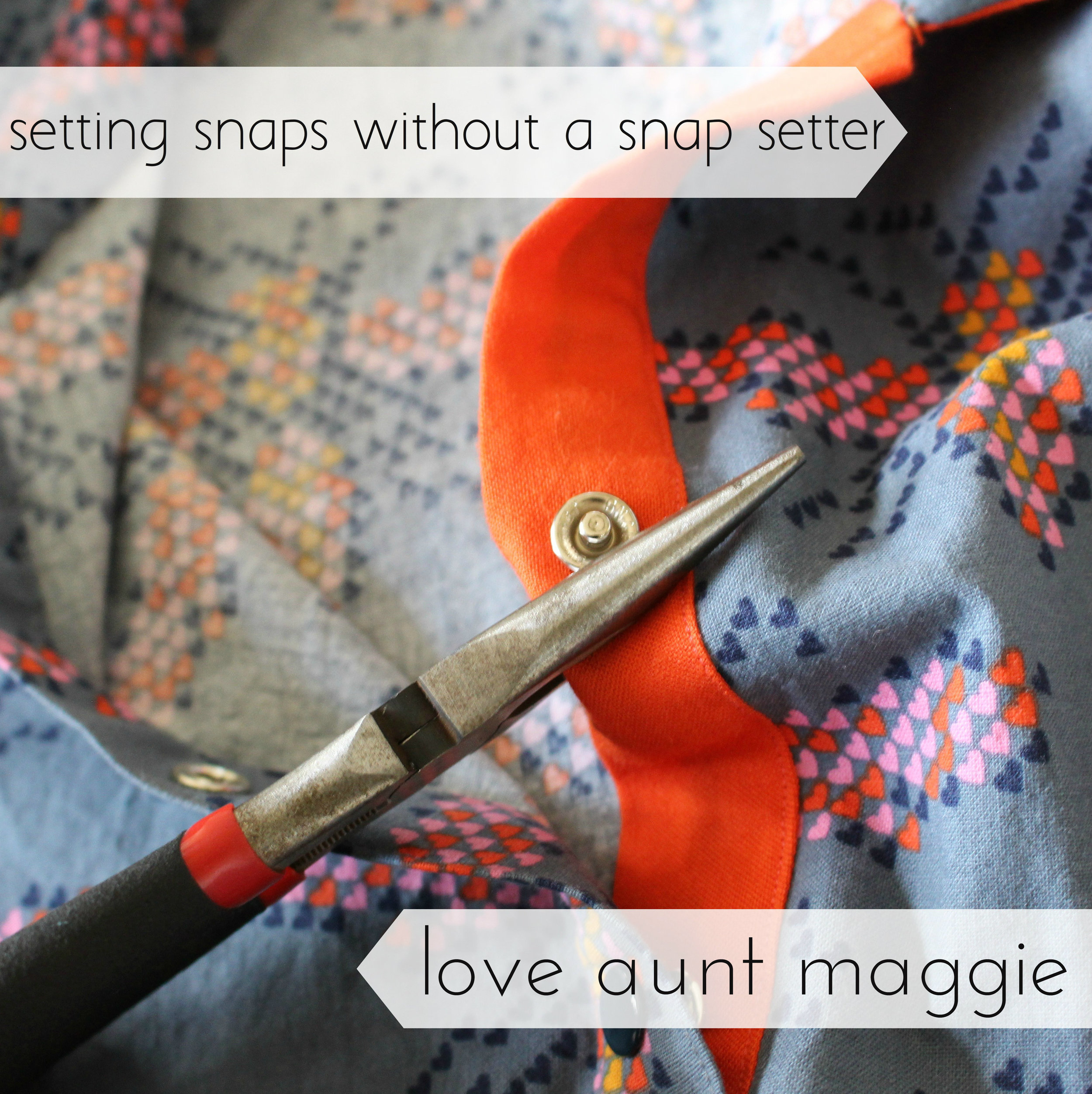love aunt maggie | setting snaps without a snap setter
