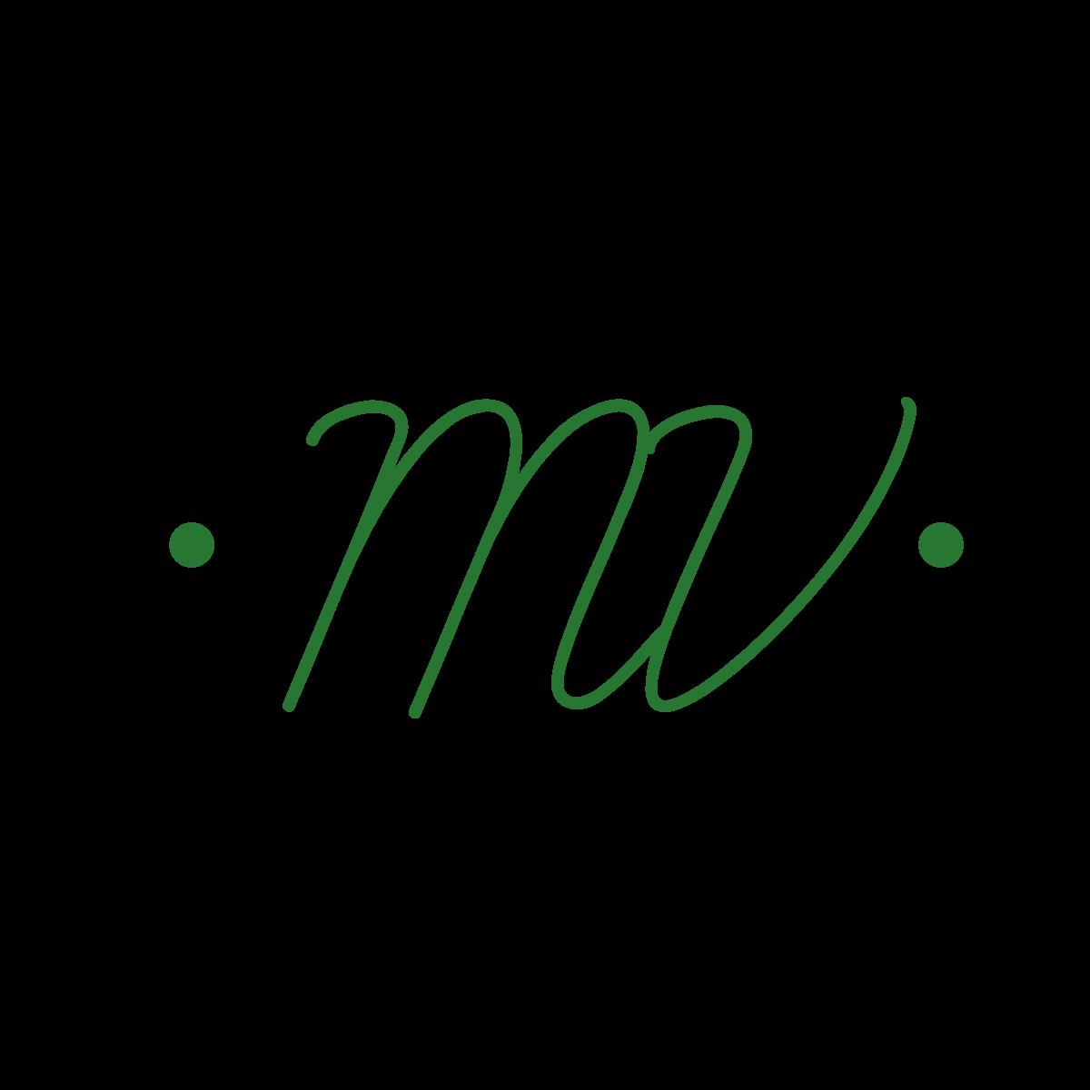 m and v monogram 1