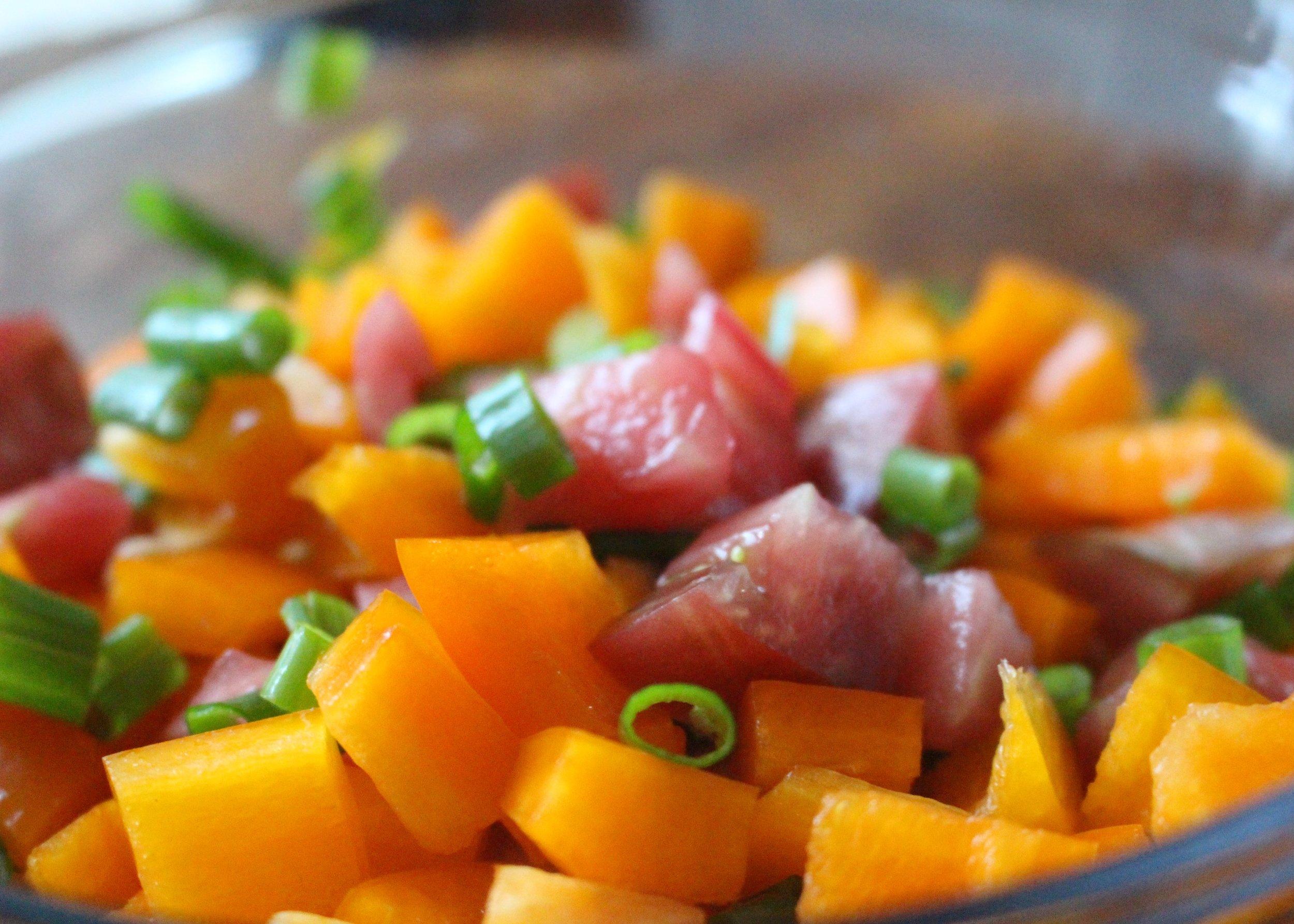 love aunt maggie chilled summer vegetables