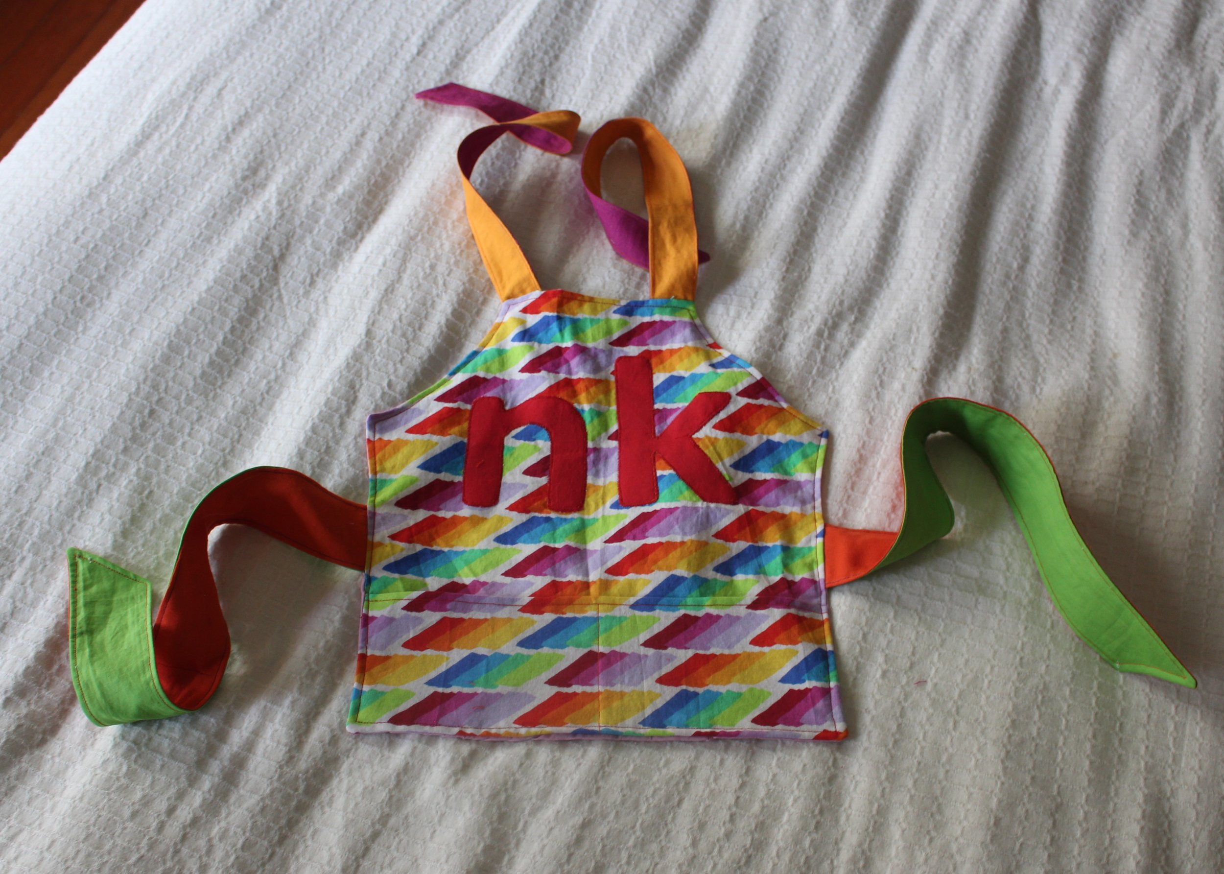 love aunt maggie | kid apron