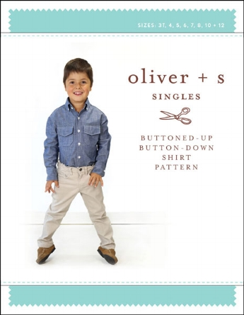 oliver + s   buttoned up button down