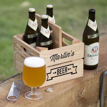 Personalised Beer Holder
