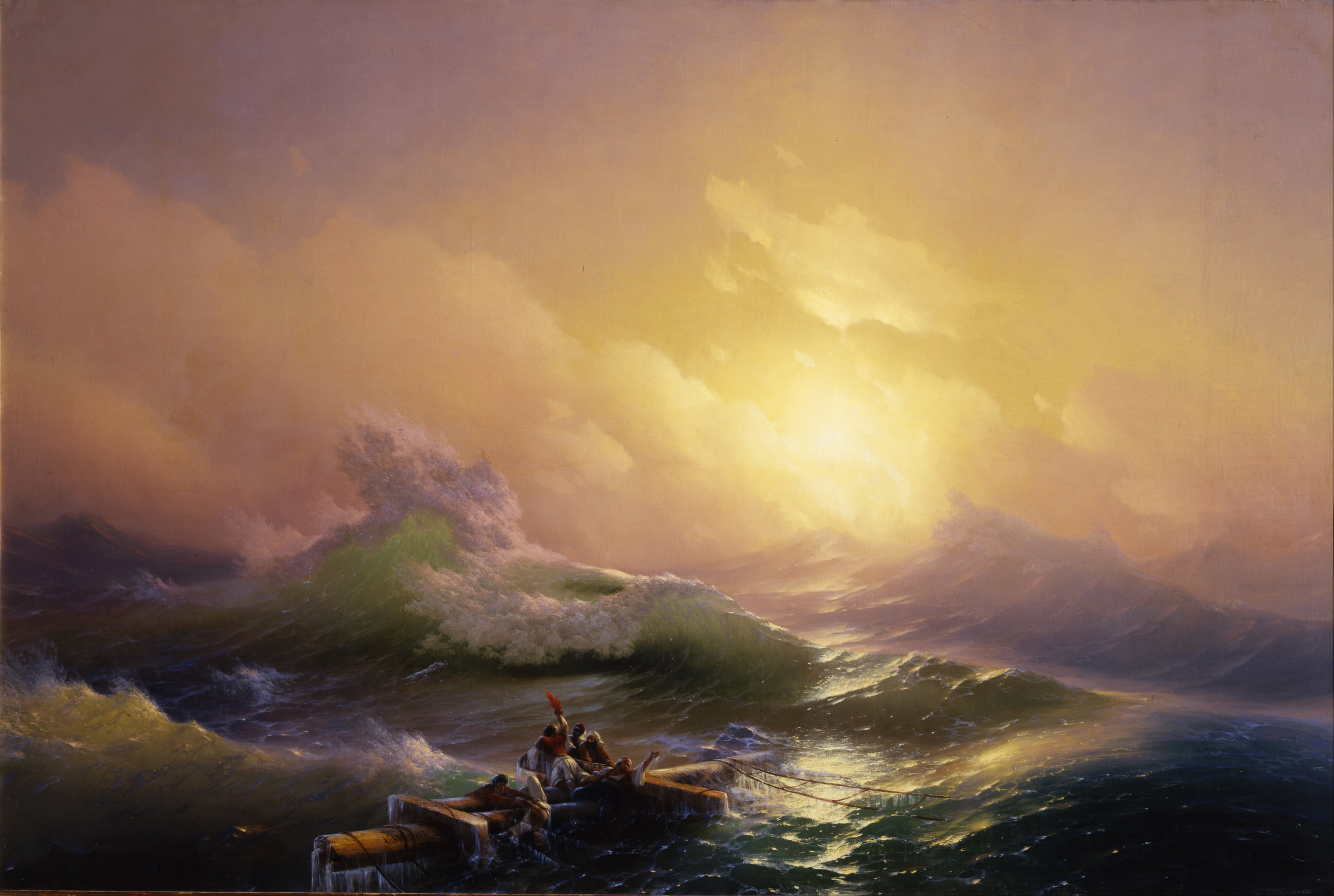The ninth wave, 1850, Ivan Aivazovsky
