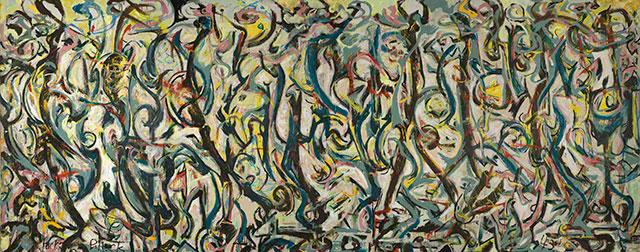 Jackson Pollock  Mural (1943)  Image Credit:   https://news.artnet.com/