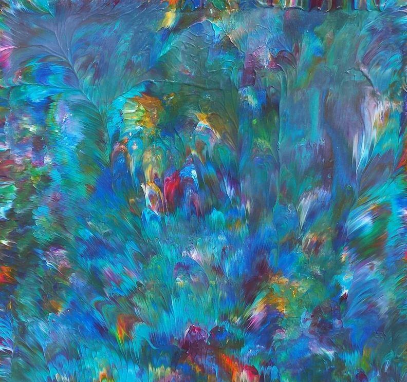 Alexandra Romano The bottom of the oean ..Alive! (2017) Artfinder.    View Full Details on Artfinder