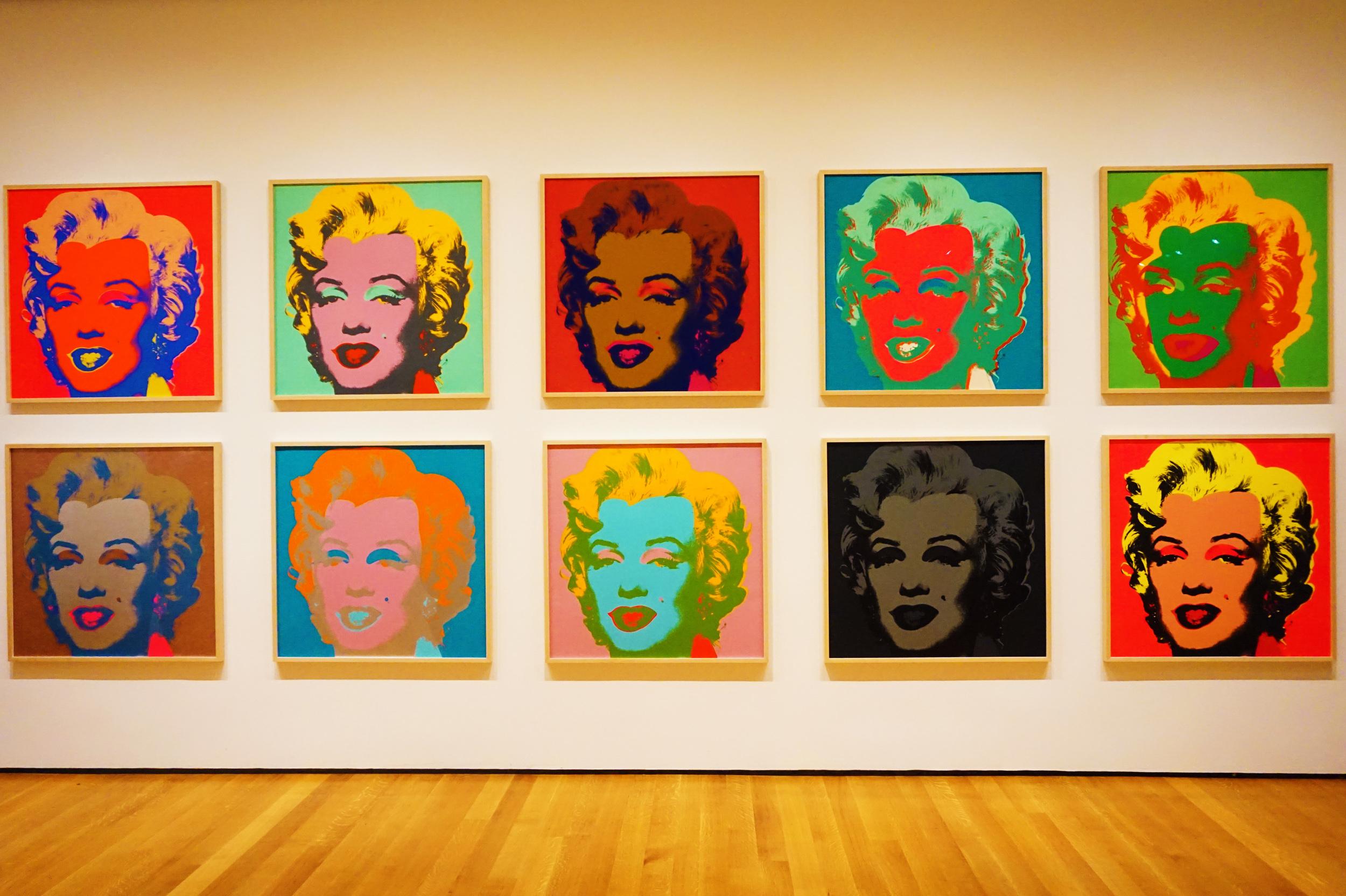 Andy Warhol's Marilyn Monroe pritns