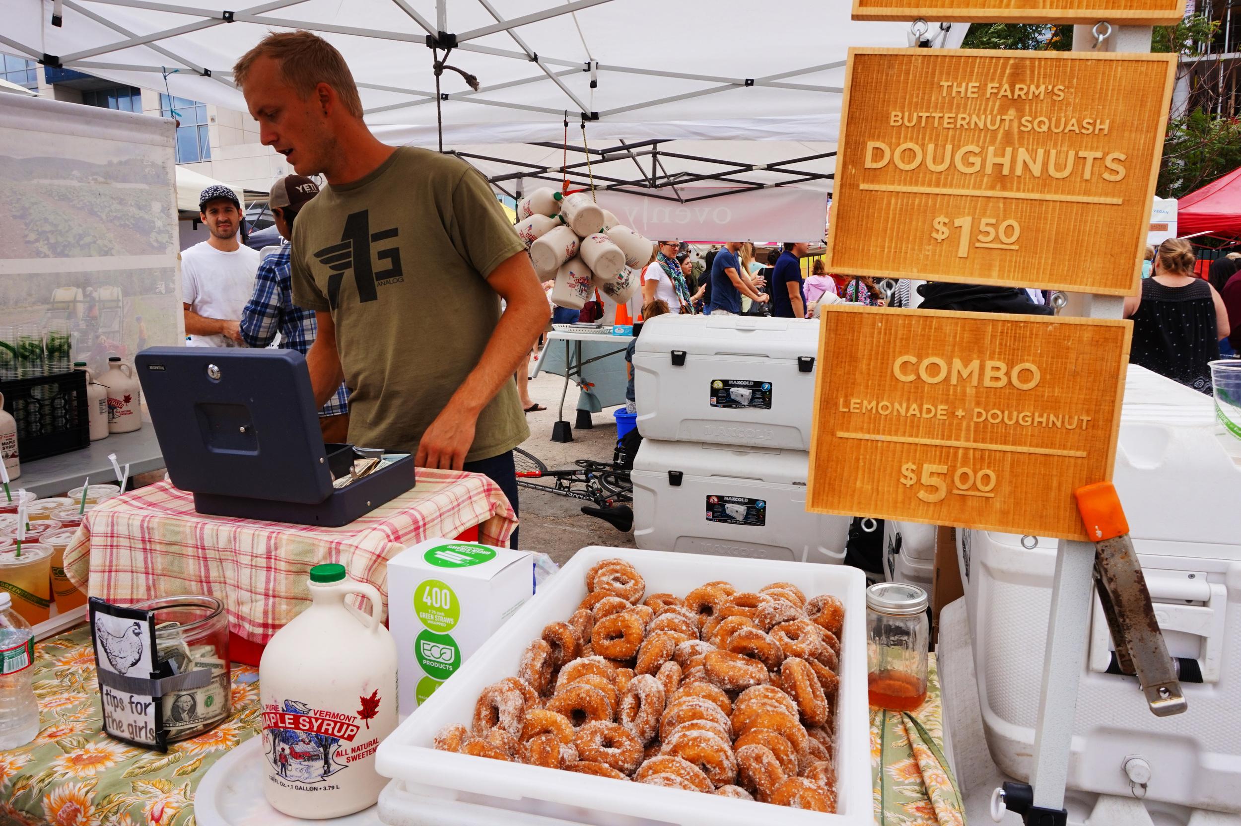 Butternut squash doughnuts?!
