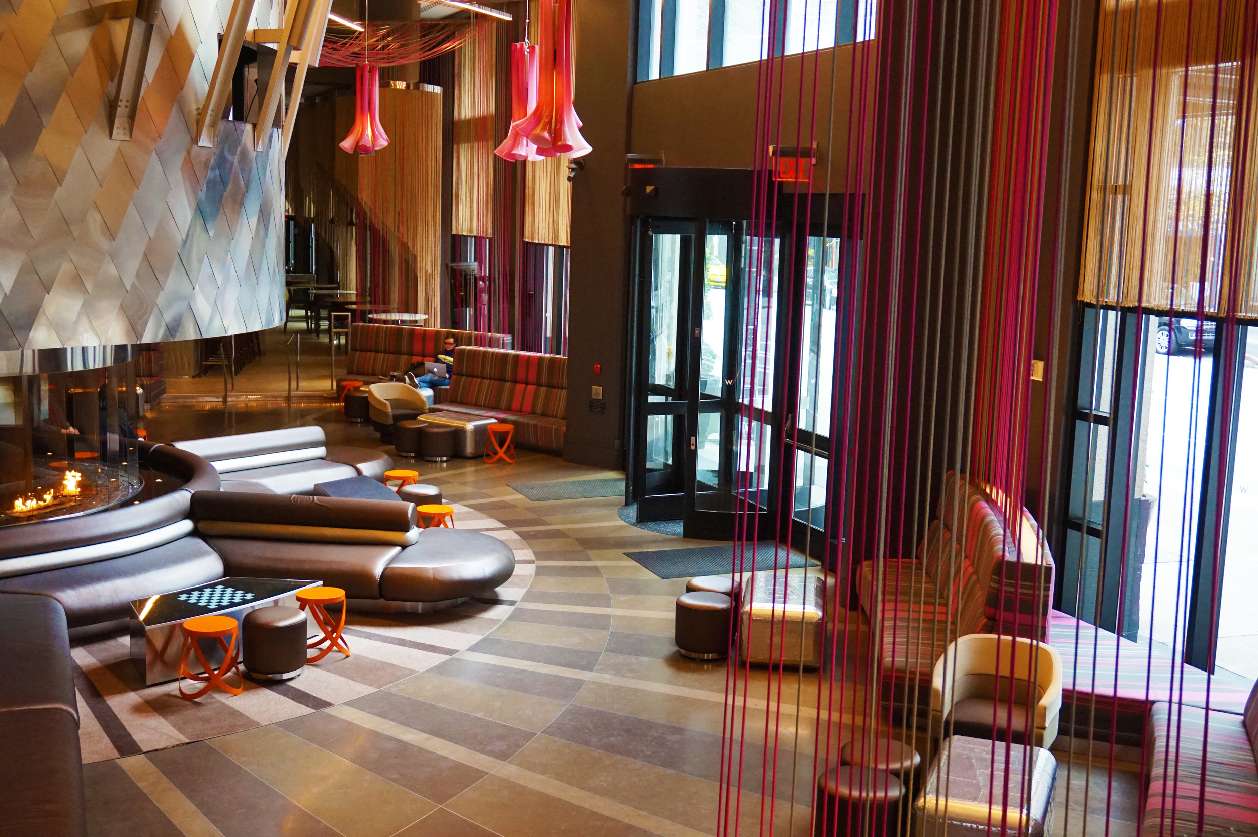 The exceptionally rad W Hotel