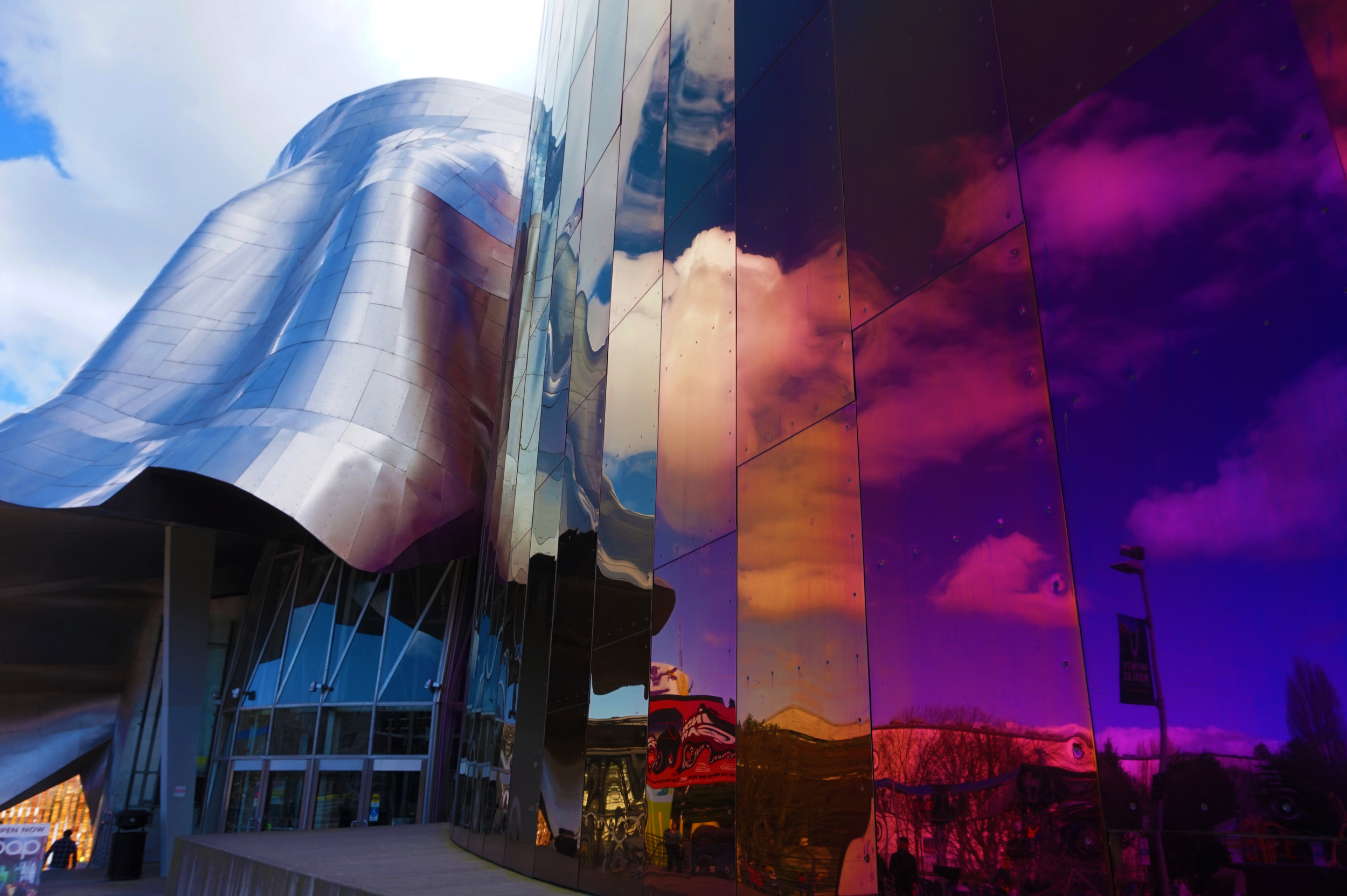 The very modern-looking EMP