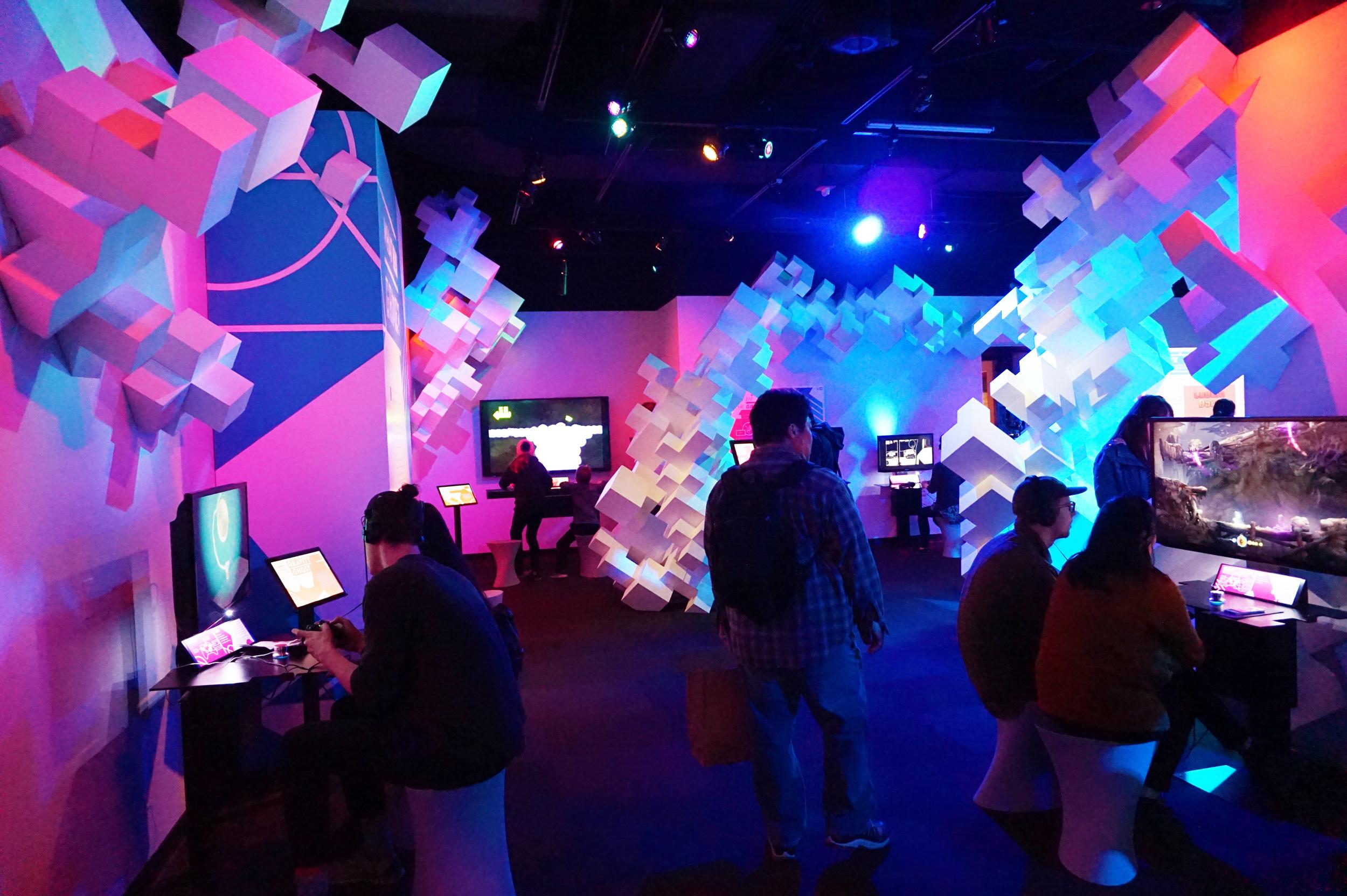 The indie game exhibit