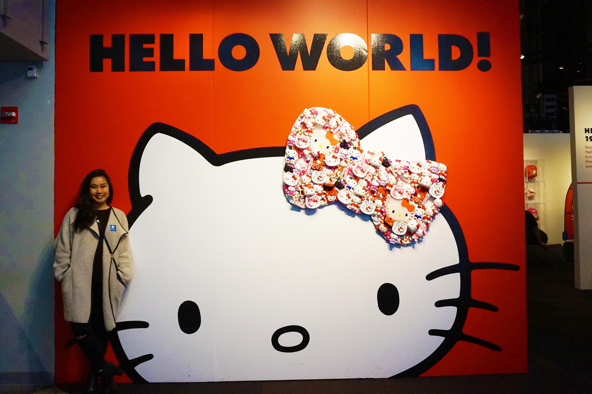 The history of Hello Kitty exhibit