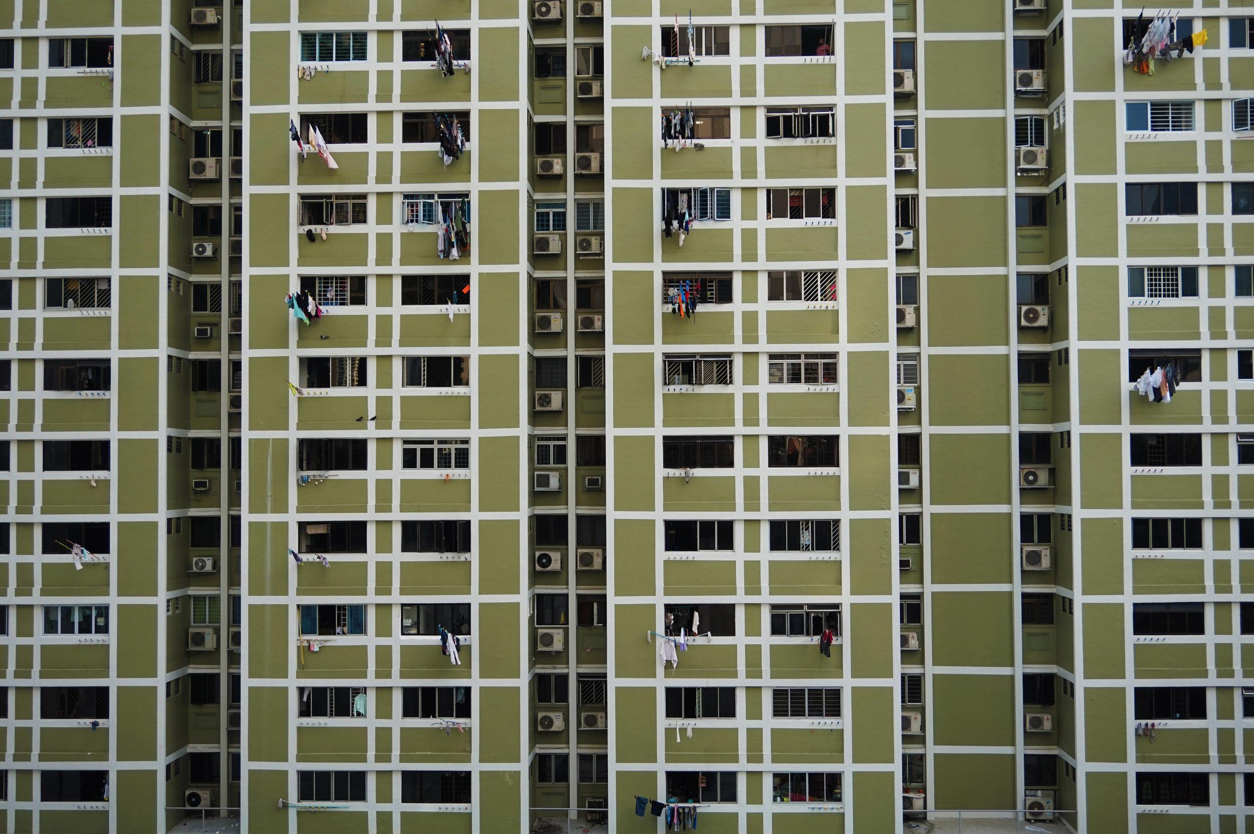 The beautiful uniformity of HDB flats