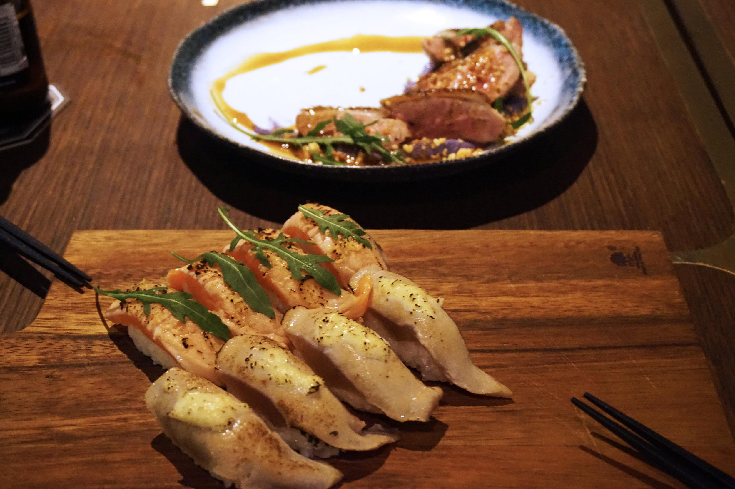 Sushi set from The Belljar