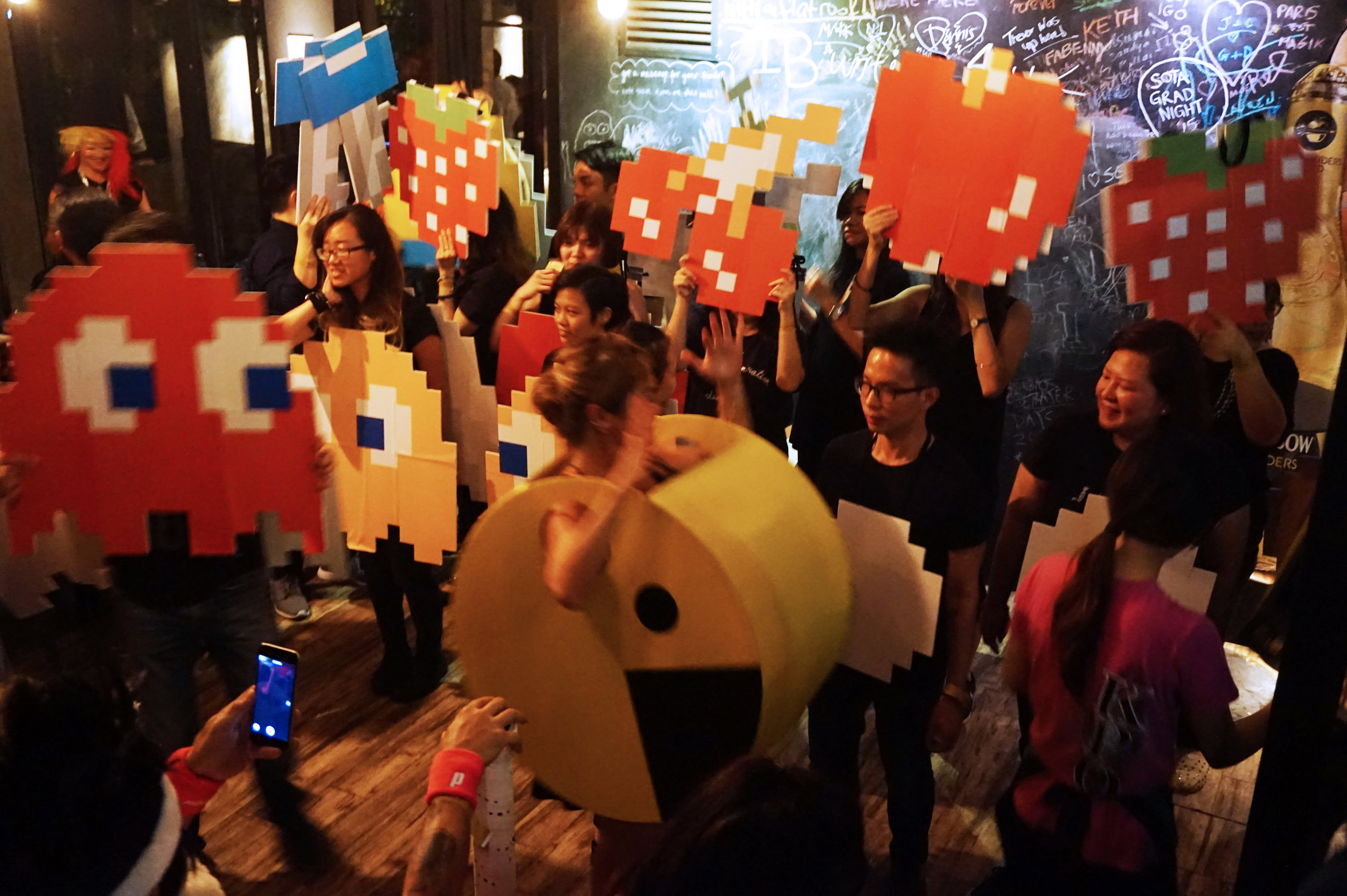 Our CCO as Pac-Man