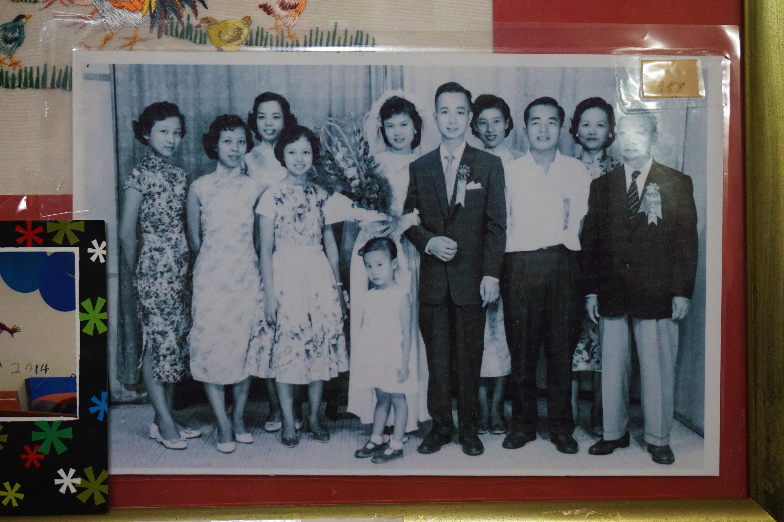 My grandparents' wedding picture