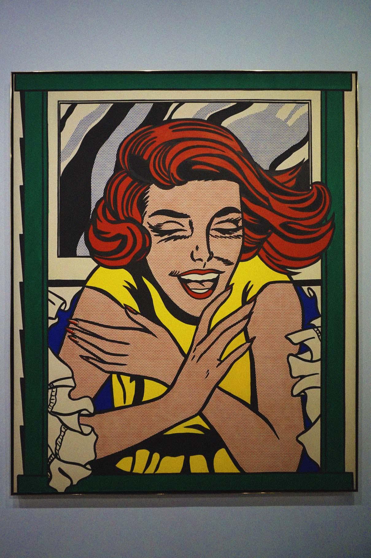 """Roy Lichtenstein's """"The Window"""""""