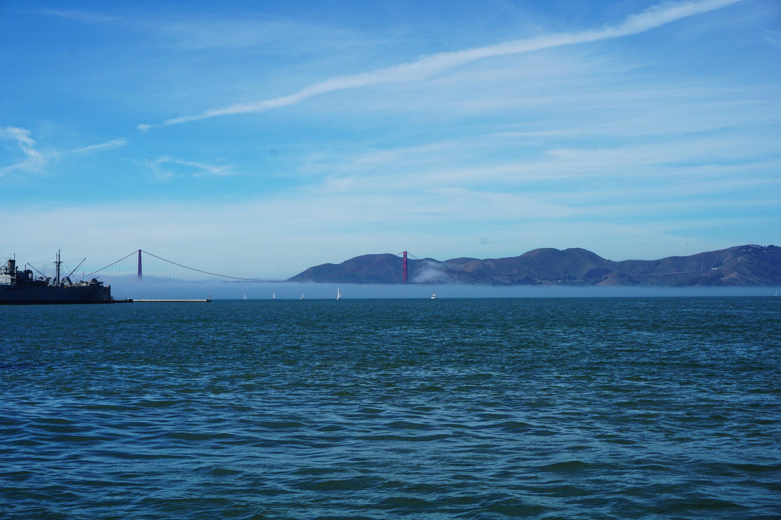 Golden Gate Bridge ft. Karl the Fog