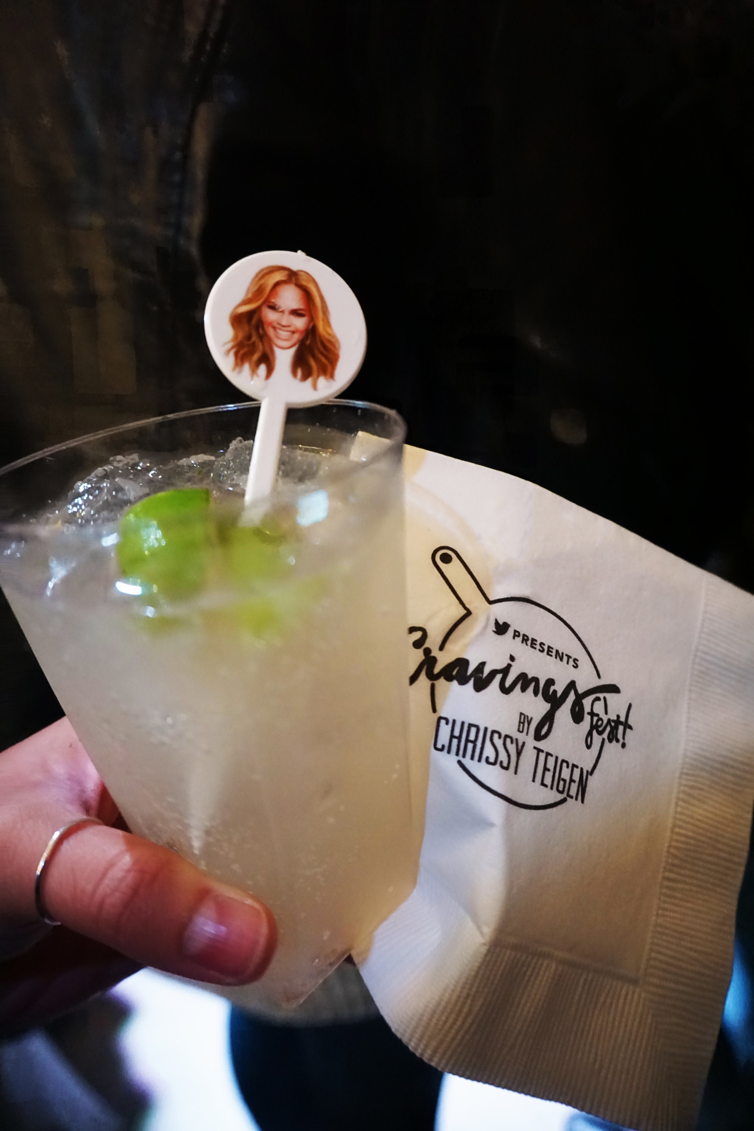 Having cocktail stirrers with your face on them at your own event is a Power Move™.