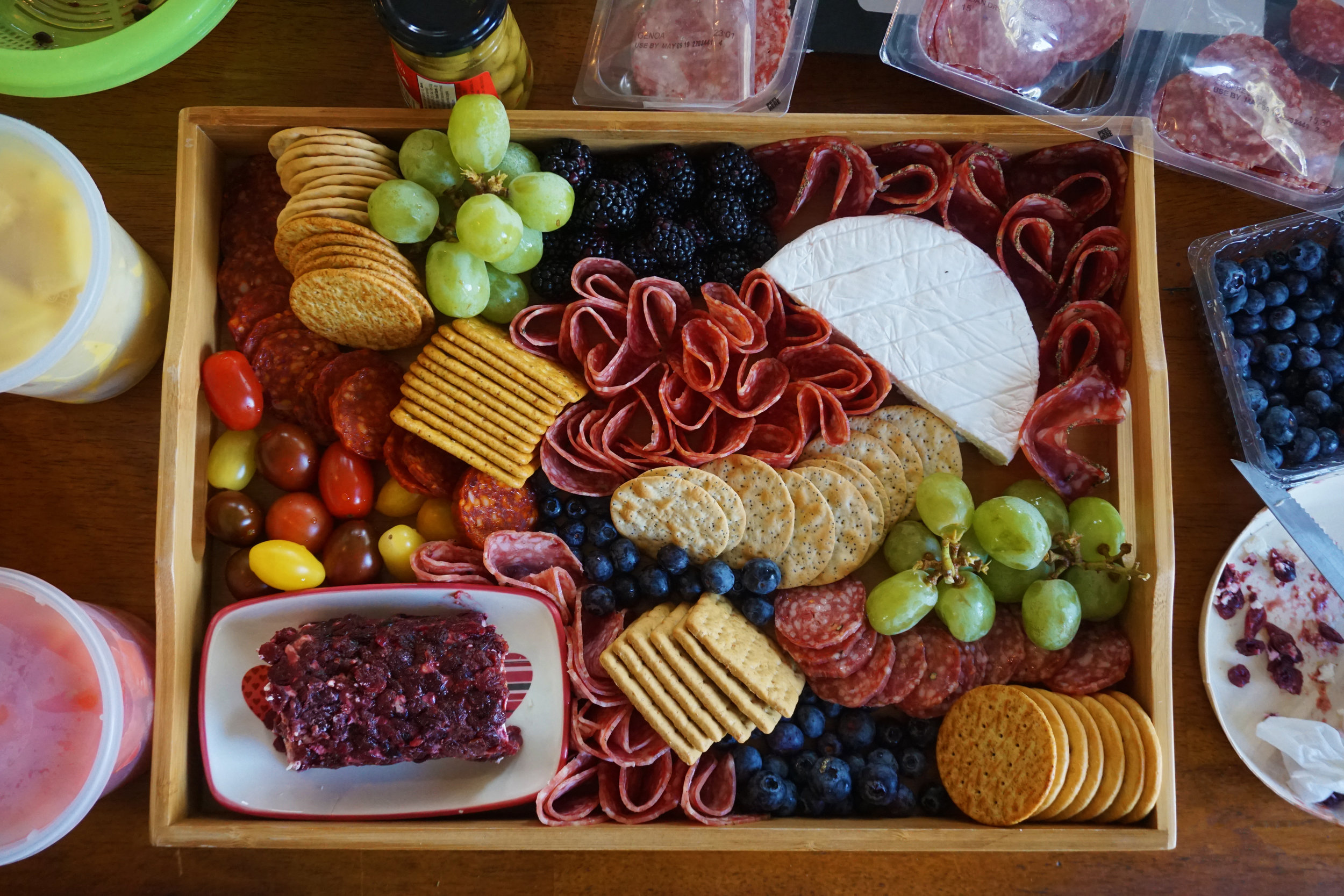 Charcuterie styling by Marisa