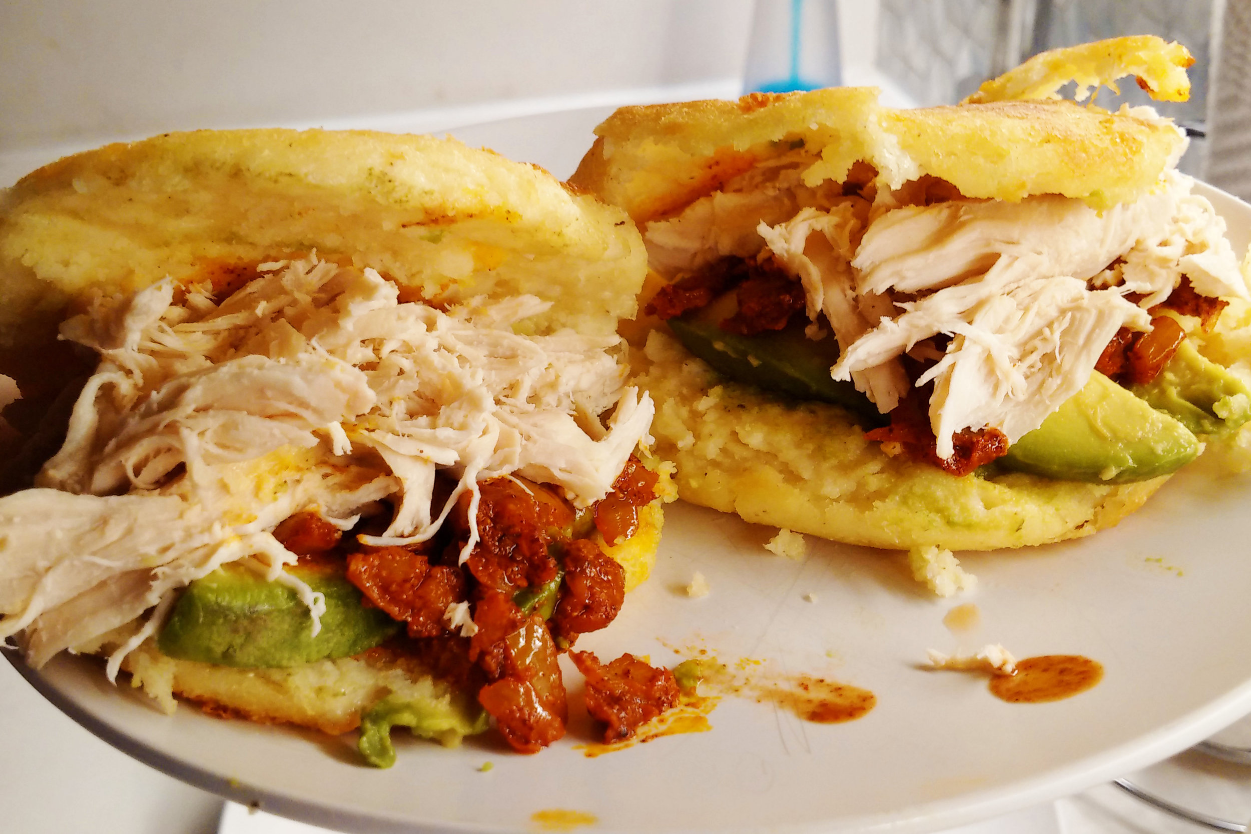 Homemade arepas from scratch!