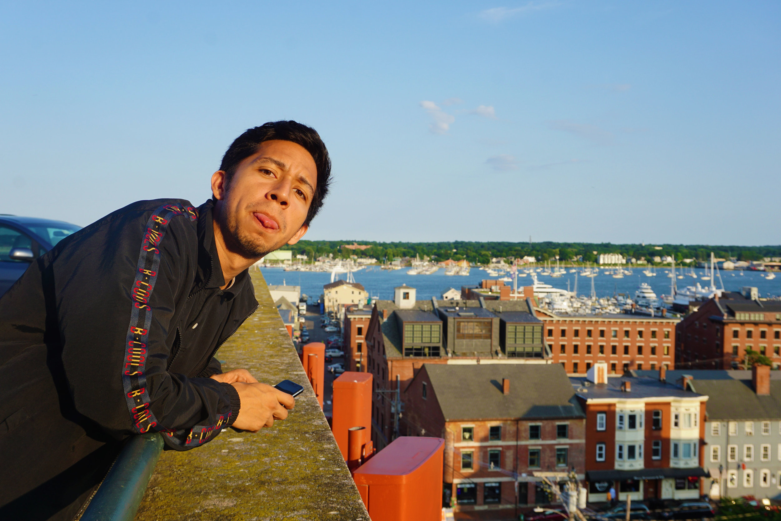 Rooftop photoshoots