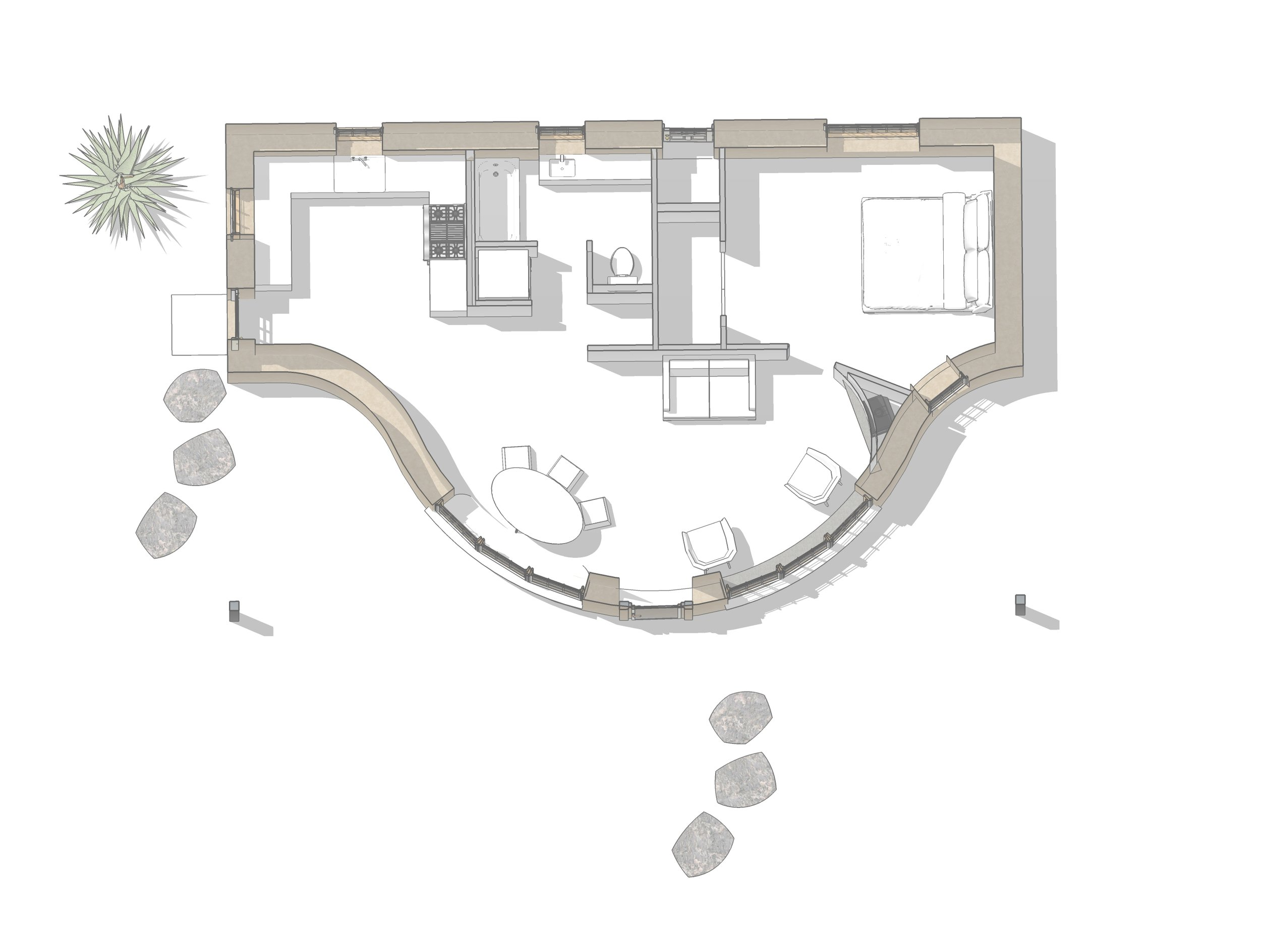 - Create a floor plan that has just what you need and nothing more.