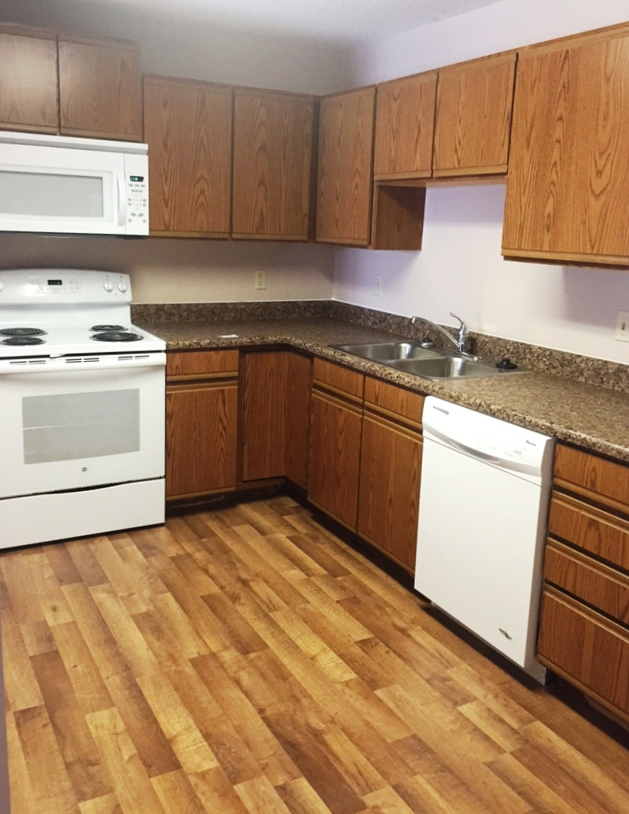 Southern Cross Apartments in Rapid City, SD - Updated Kitchens