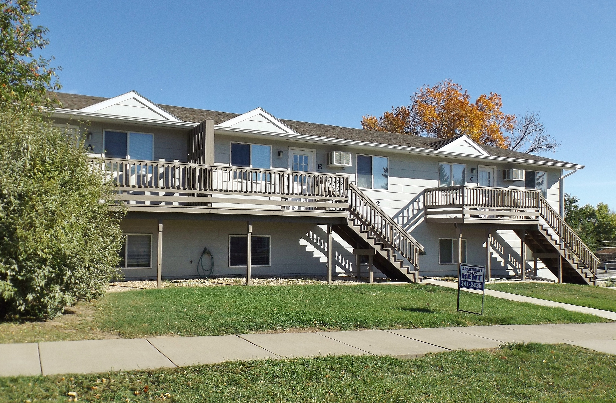 Seventh Street Apartments in Rapid City, SD - front view