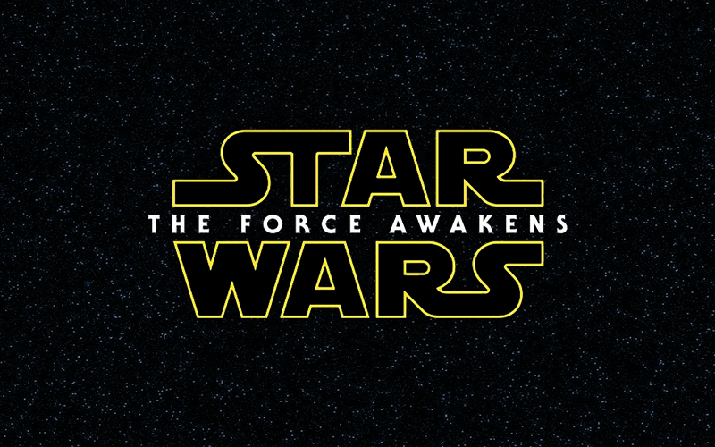 The Force Awakens Logo - curbside.audio