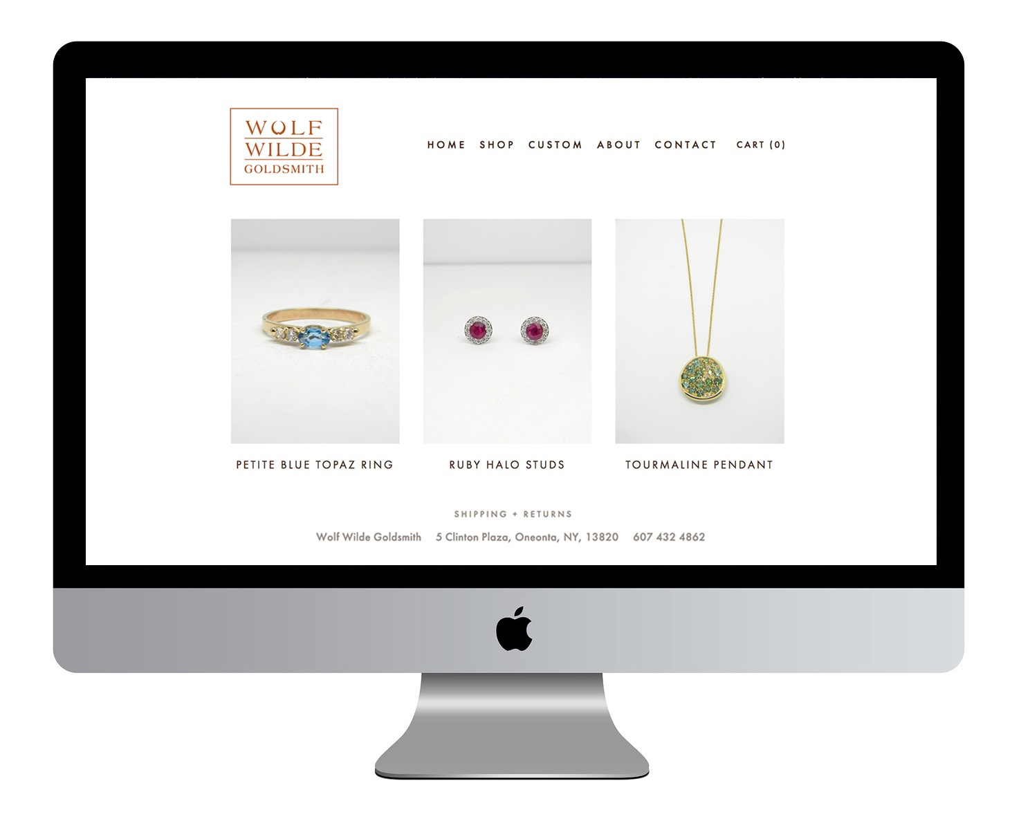 Wolf Wilde Goldsmith Website