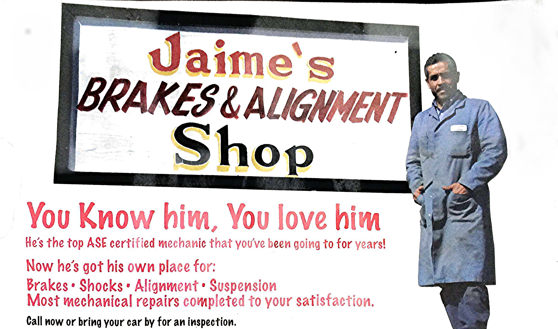 Jaime's Brakes and Alignment