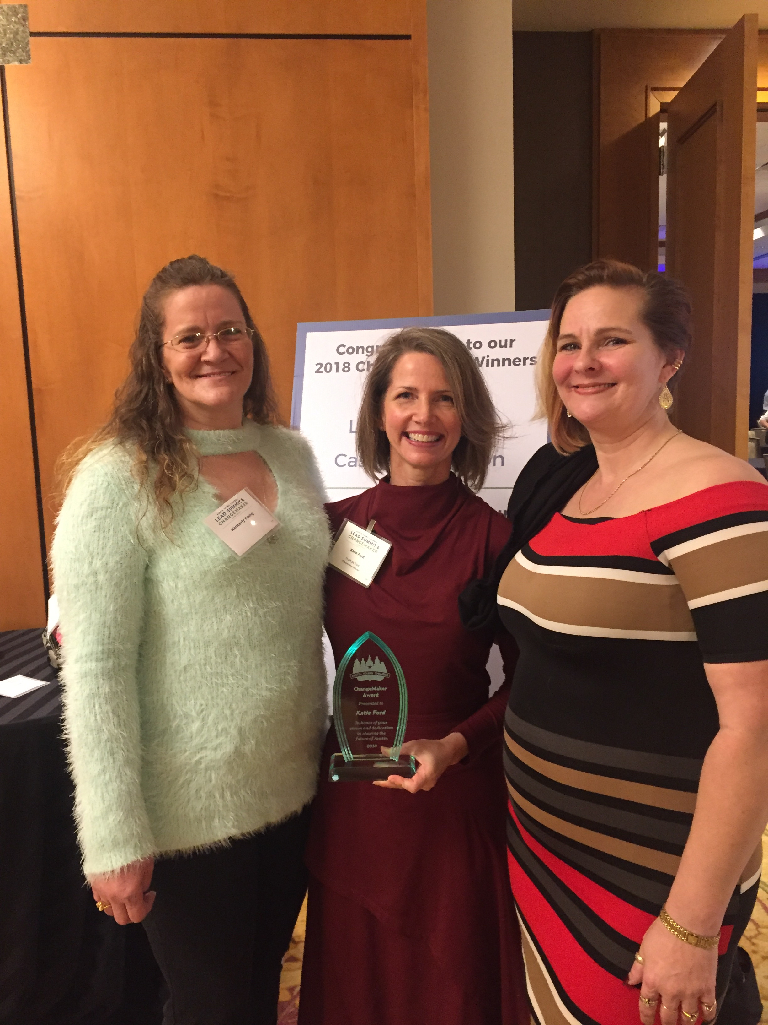 ChangeMaker Award with Kim and Lauren.jpg