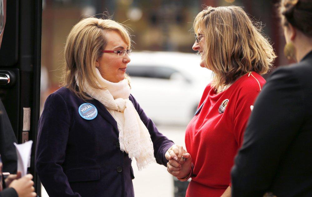 Gabby Giffords & Judi Richardson