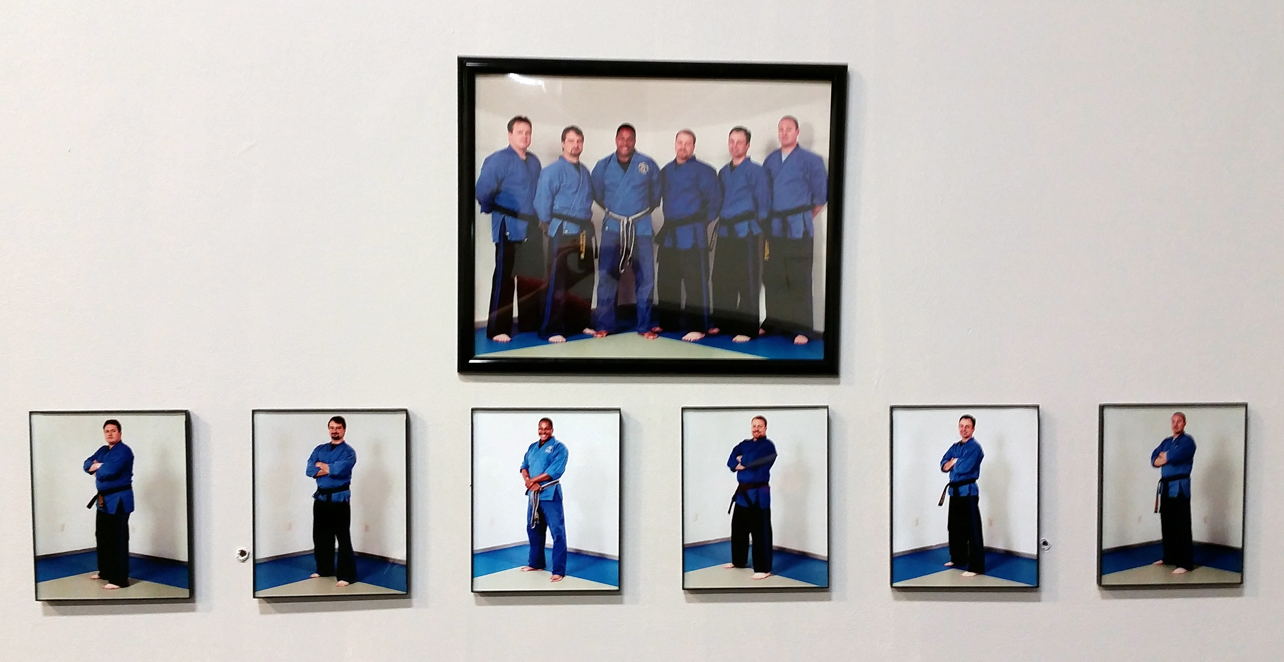 Original Golden Knights Instructors. (Left to Right - Mark Alexander, Scott Baldwin, Marty Weedon, Ryan Zimmerman, Brian McCoy, Scott Alexander