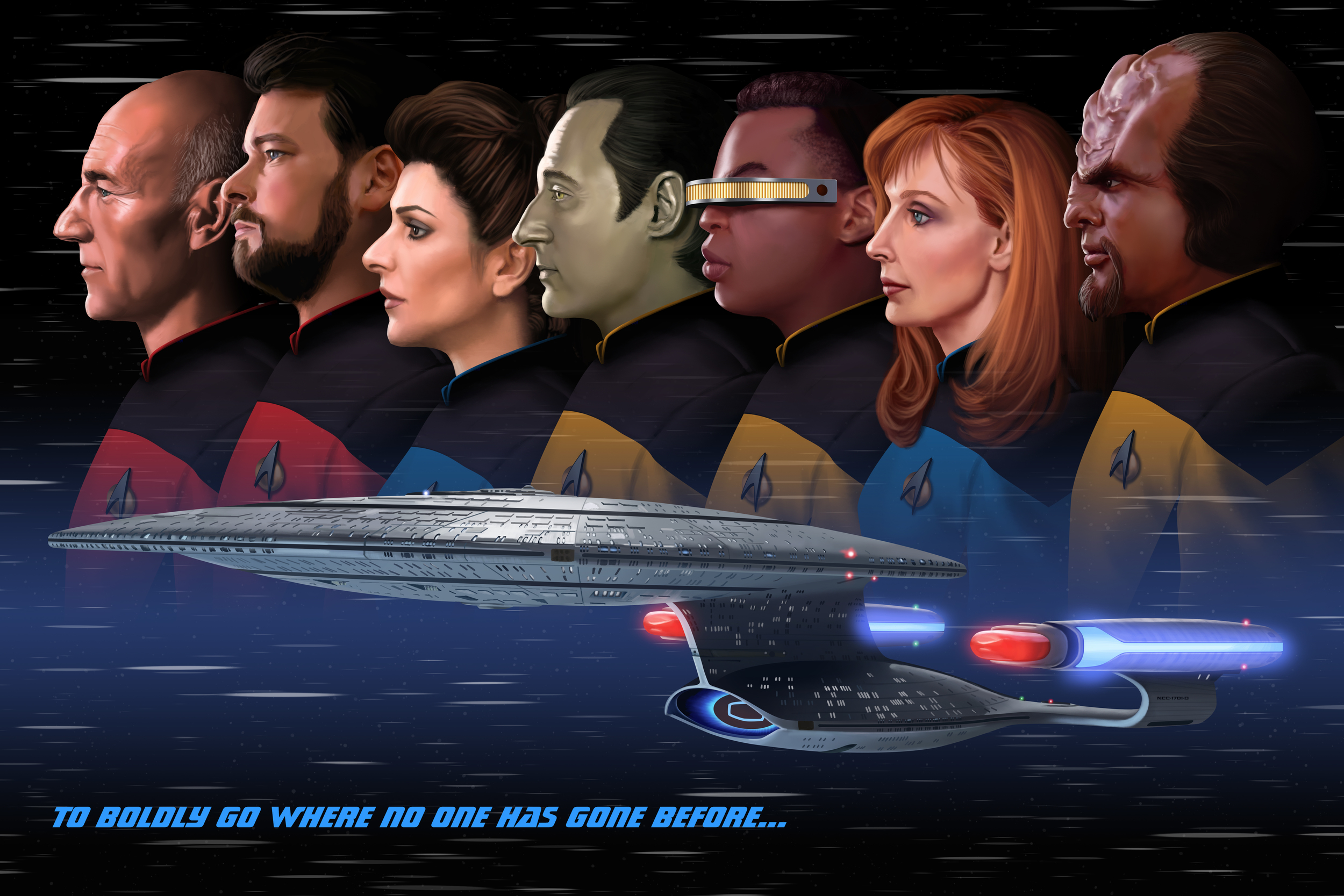 To Boldly Go Where No One has Gone Before