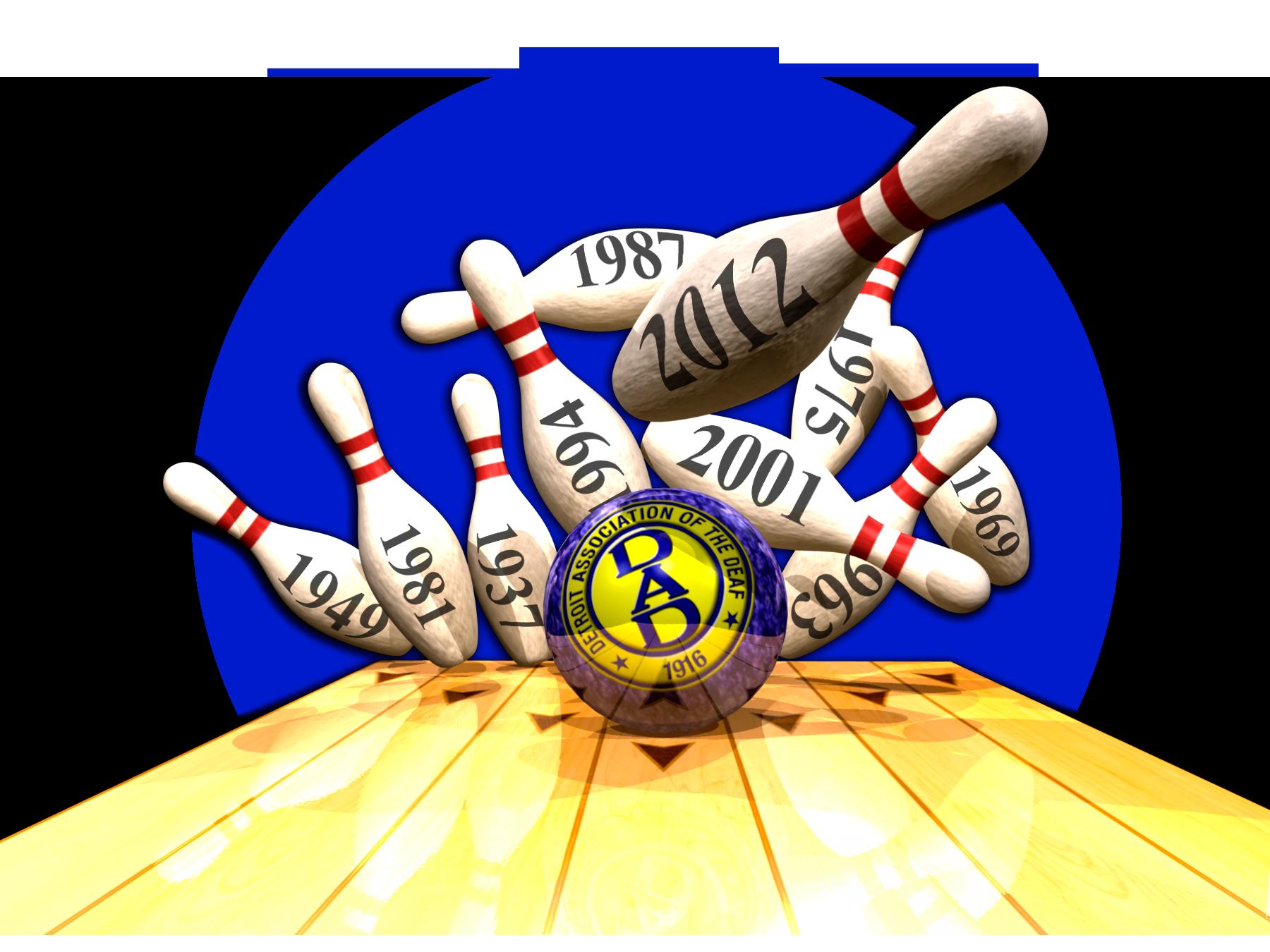 Deaf Bowling Event Brochure