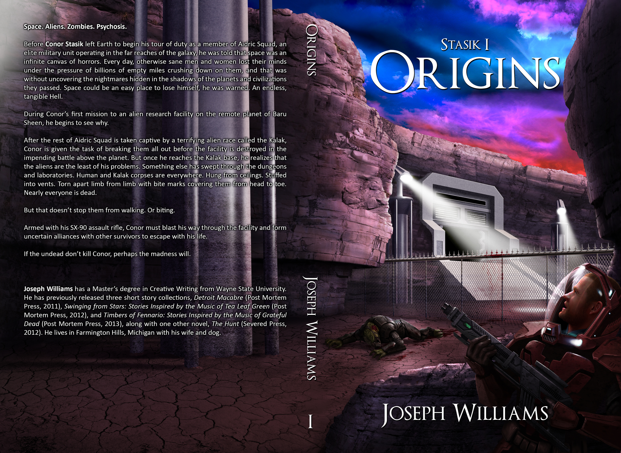'Stasik I: Origins' Book Cover