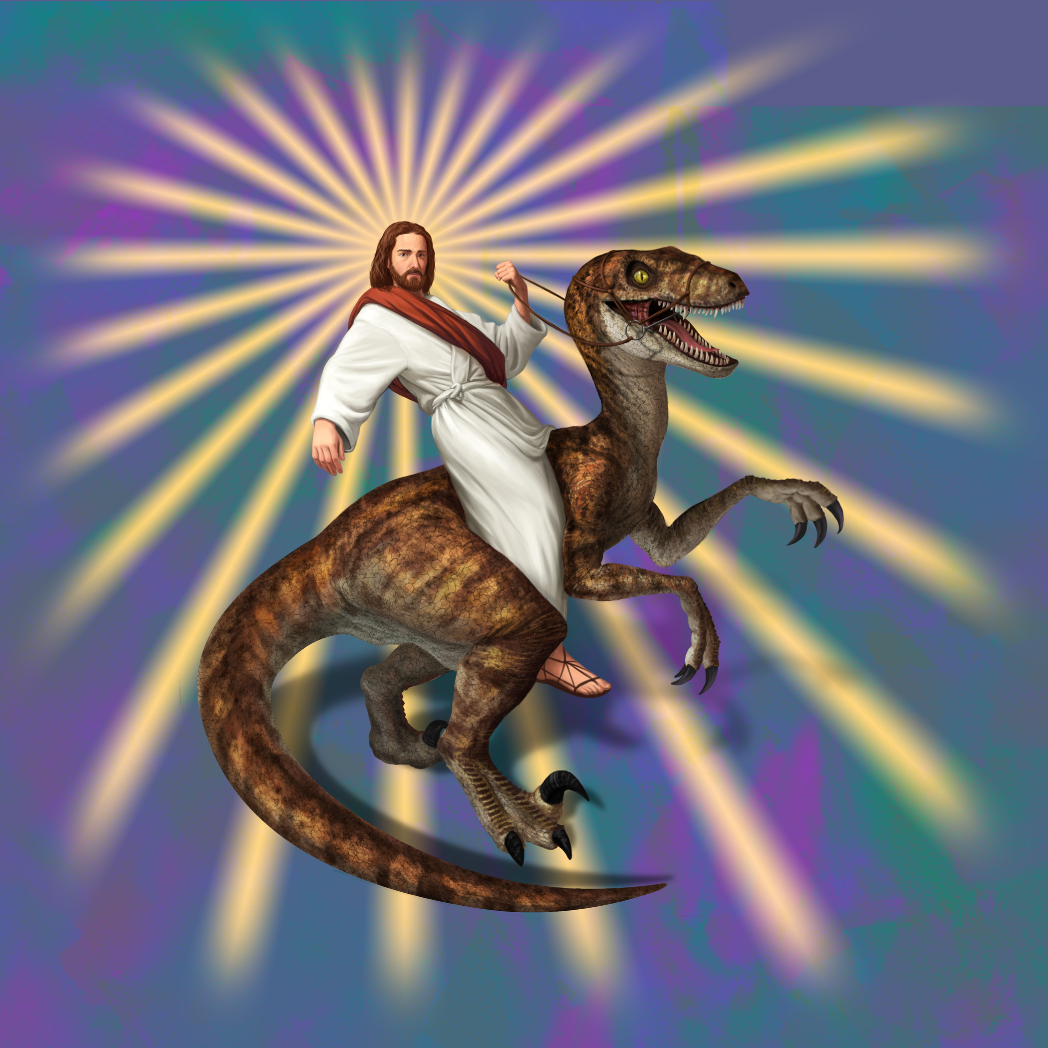 We Don't Know If Jesus Ever Rode Dinosaurs... But He Probably Did!