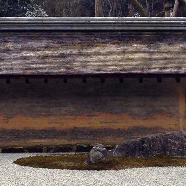 Ryoan-ji Temple Garden, Kyoto #bfivestudio