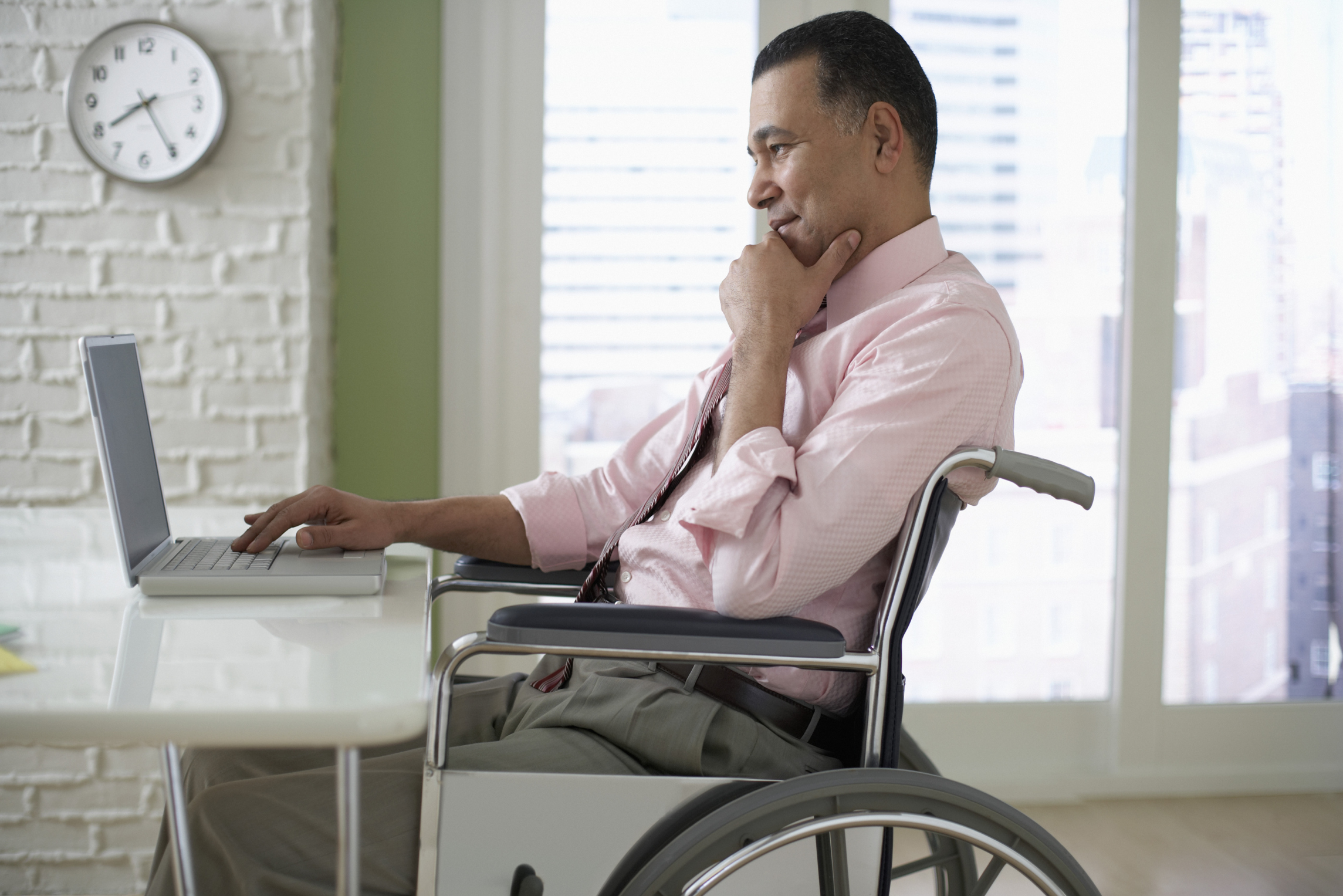 Help for disabled employees with workers compensation.