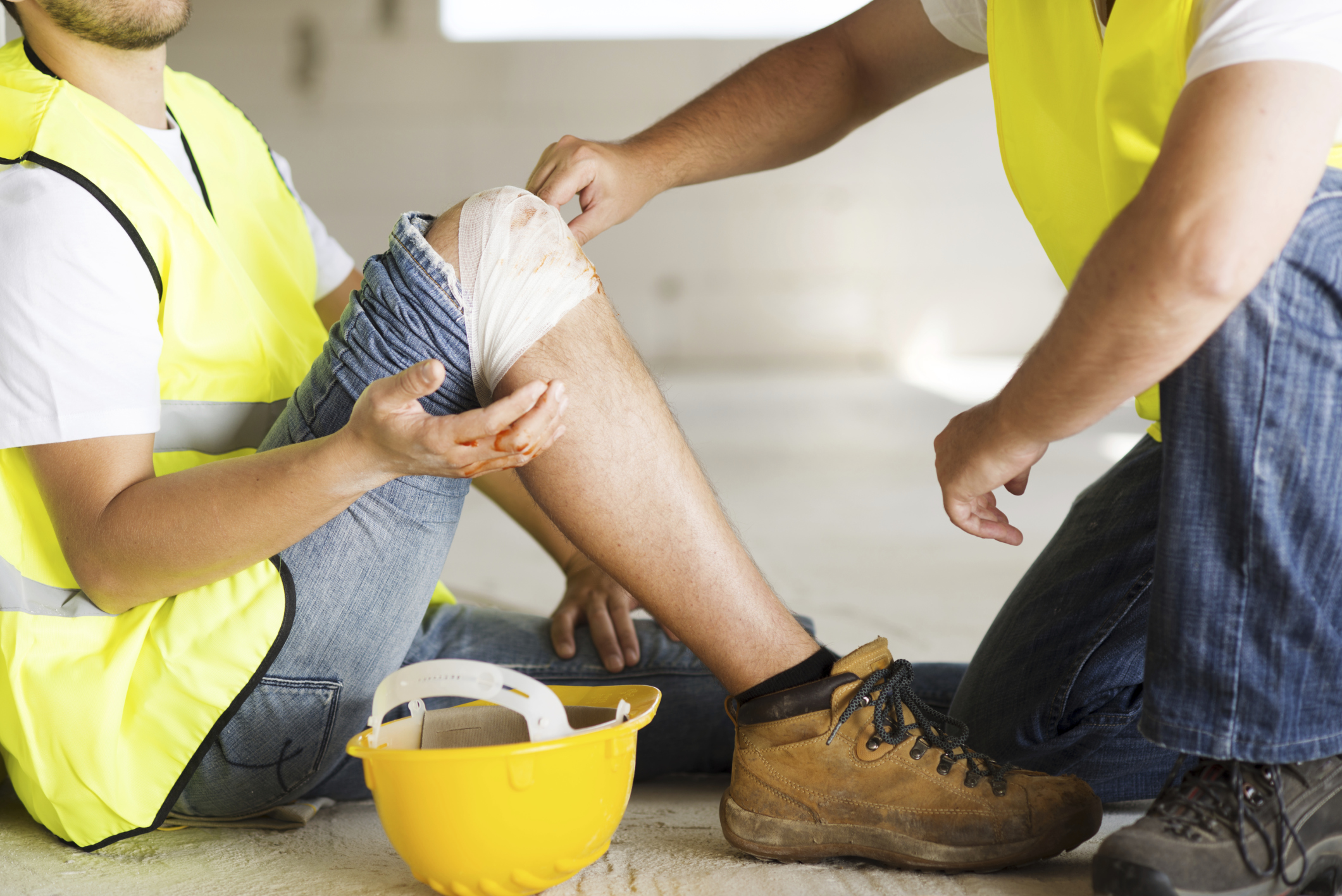 Construction Site injury claim in San Diego.