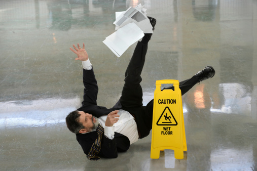 Slip & Fall Workers Comepnsation attorney