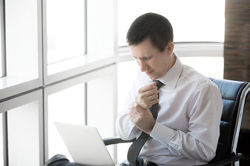 Repetitive Stress Injuries in office workers' compensation.