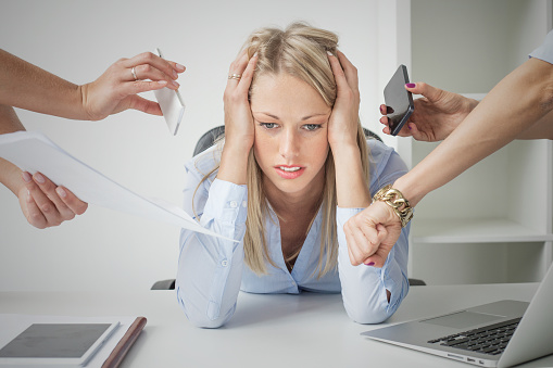 Manging workplace stress in San Diego.